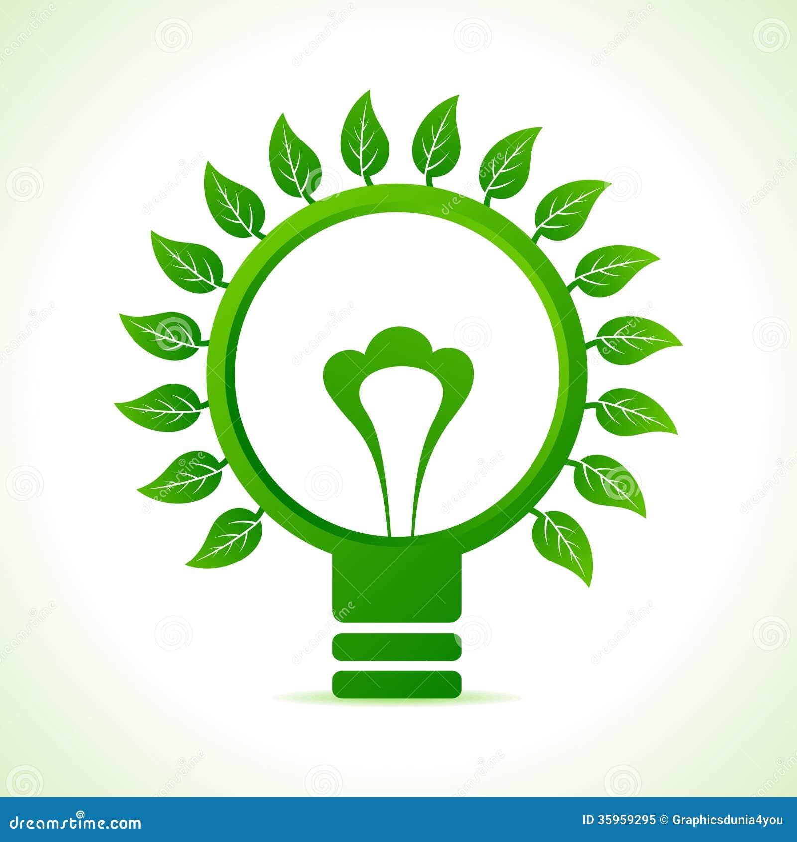 Hoja alrededor del bulbo verde