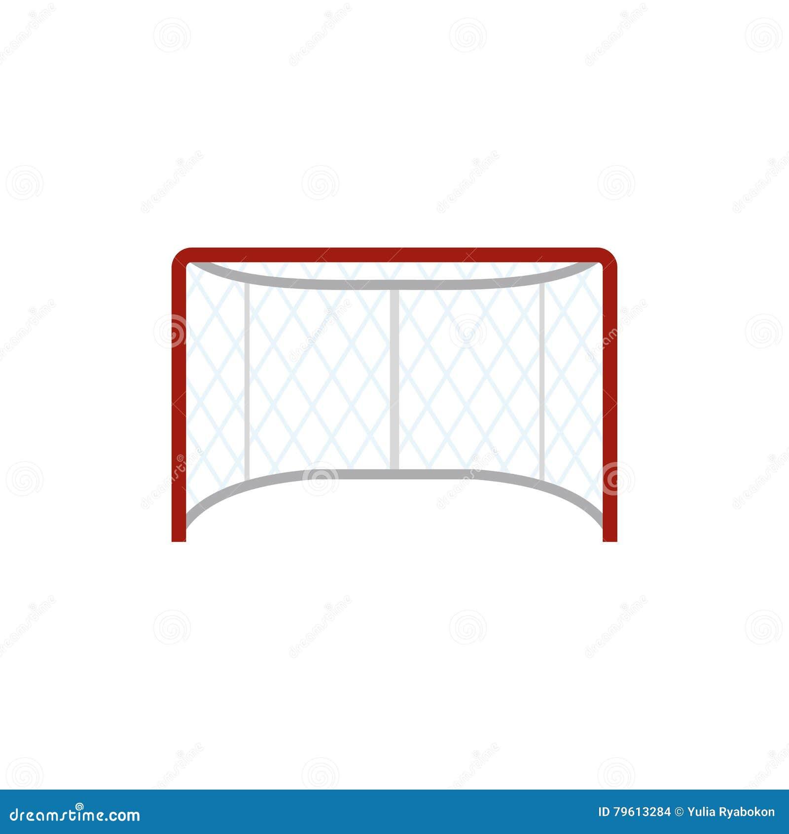 Hokej zakazuje płaską ikonę