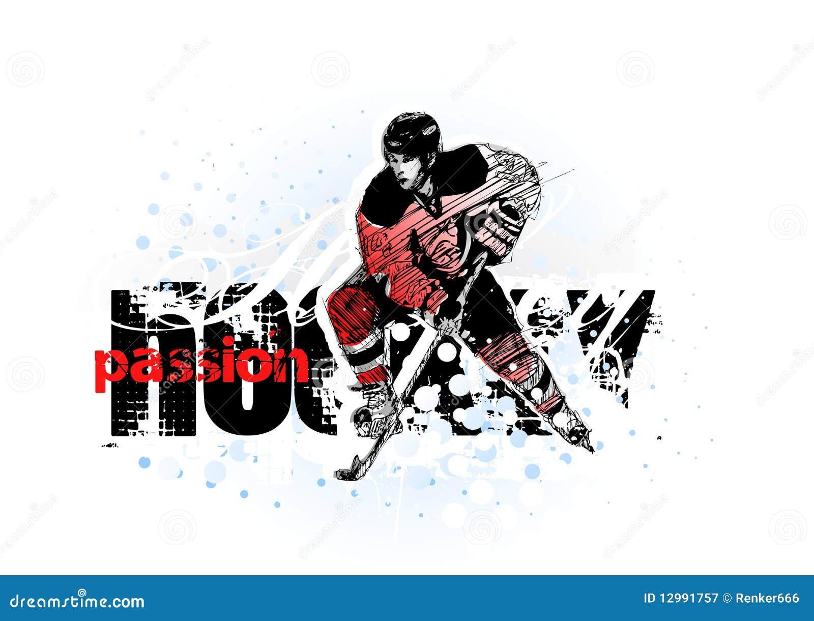 Hokeja lód