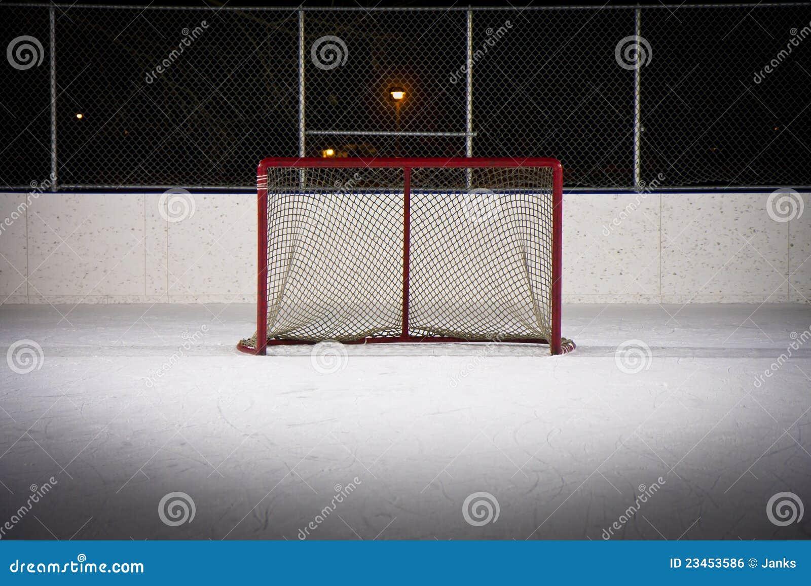 Hokeja sieci lodowisko