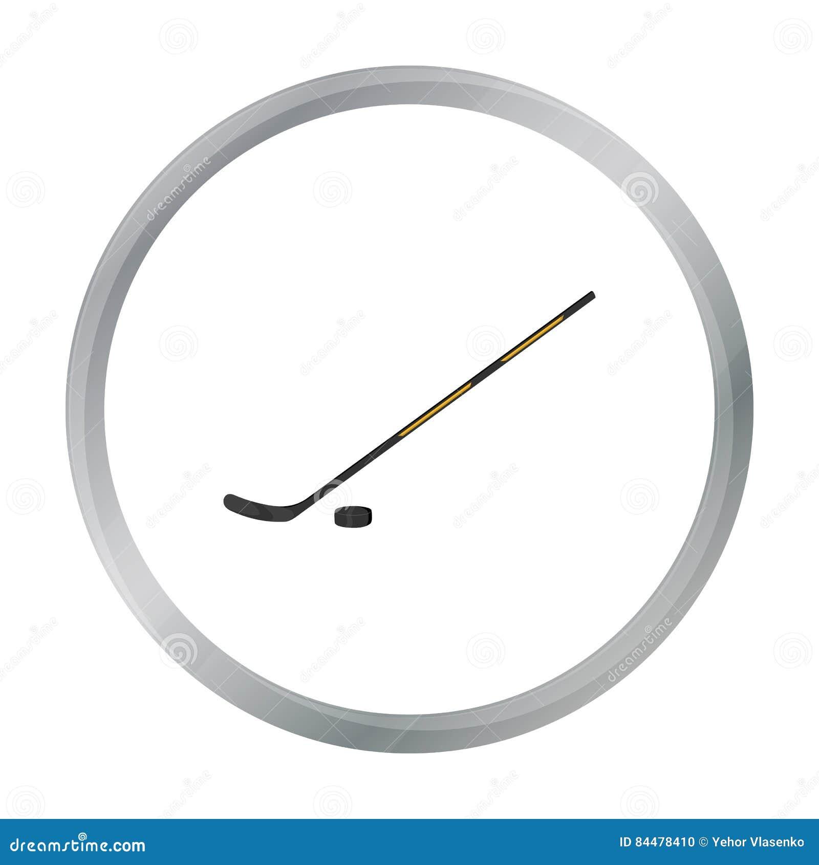 Hokejowa ikony kreskówka Przerzedże sport ikonę od dużej sprawności fizycznej, zdrowej, trening kreskówka