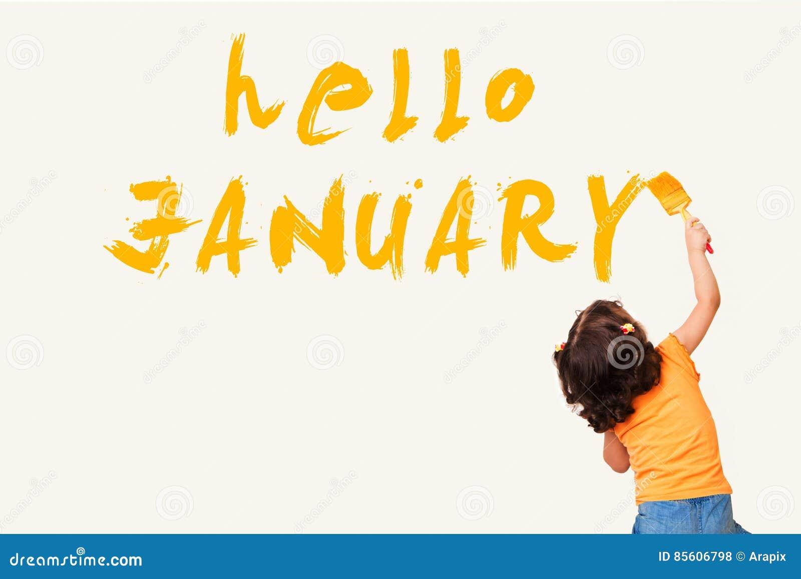Hola enero