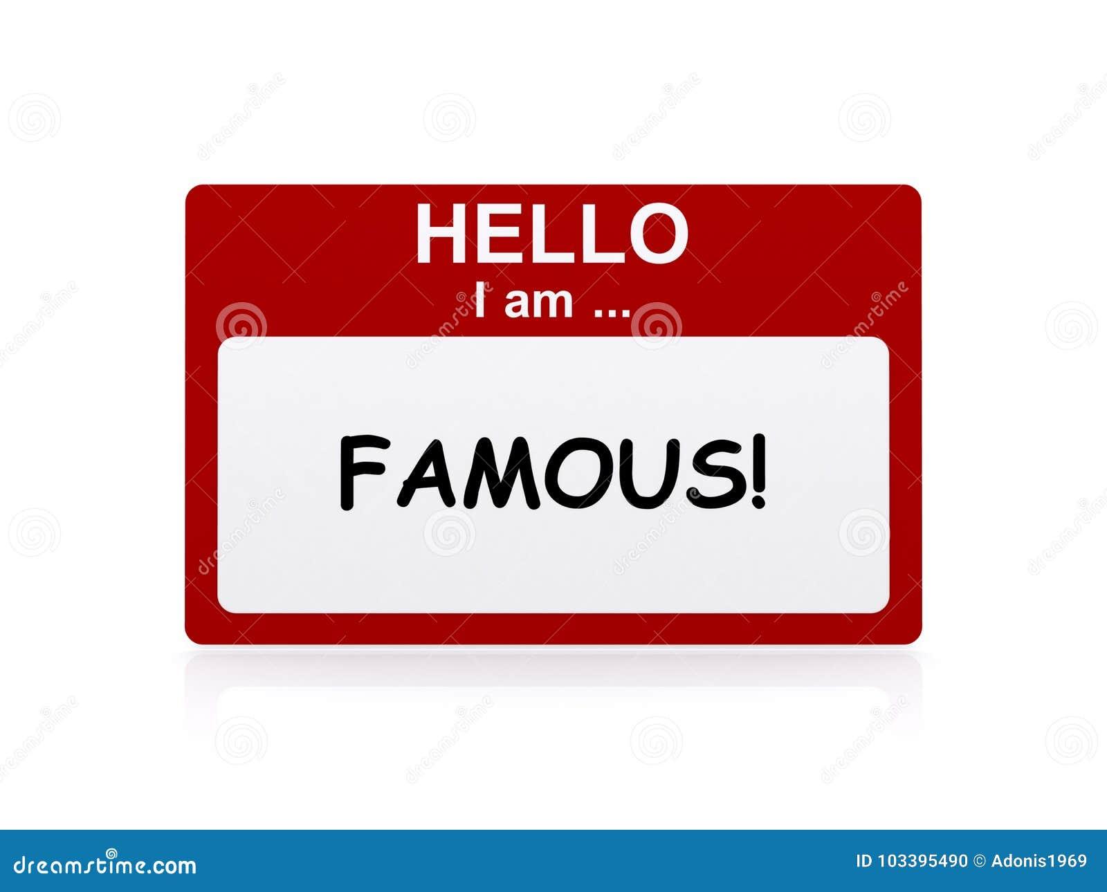 Hola soy famoso