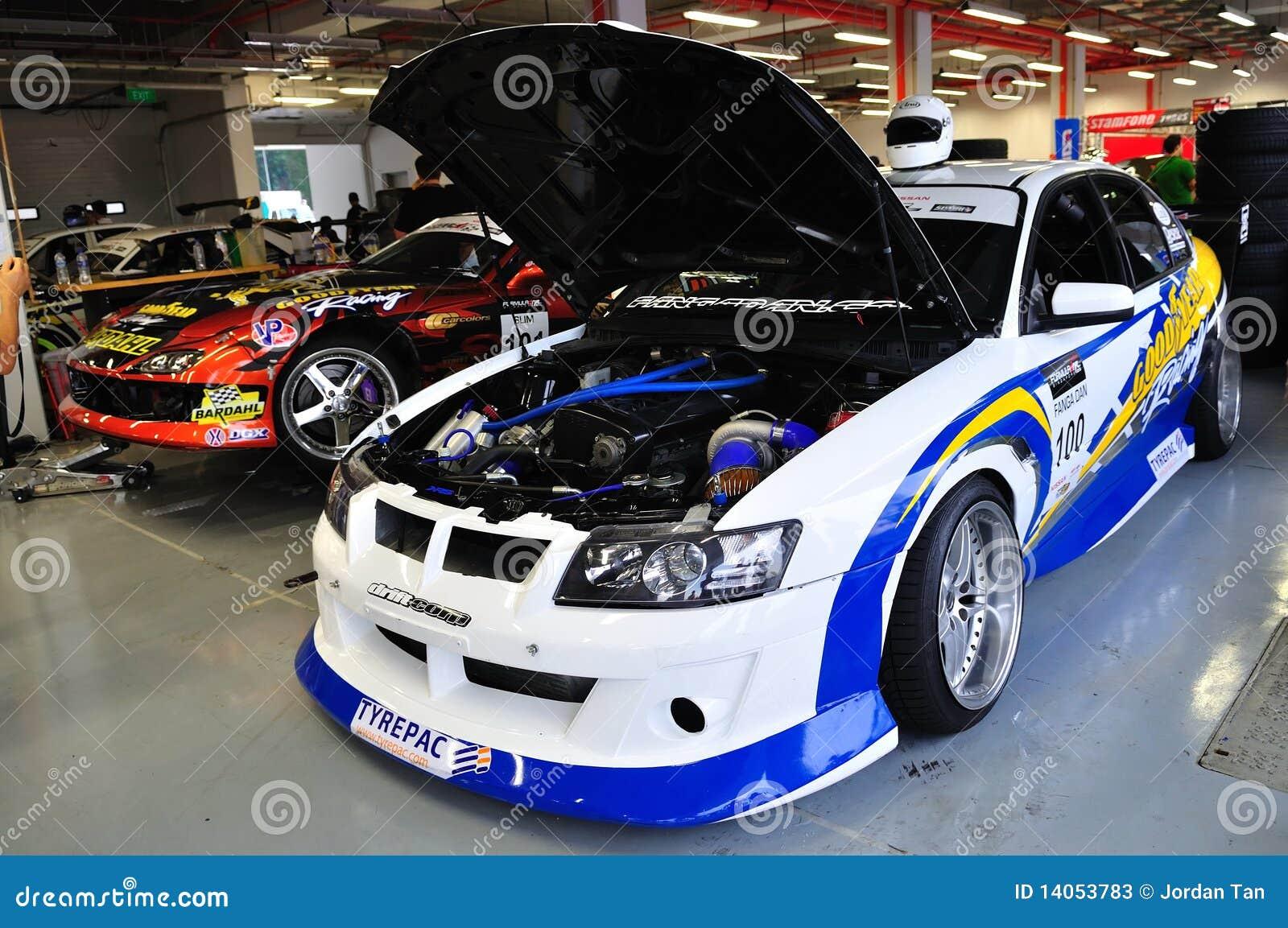 Holden GTO drift car at Formula Drift 2010