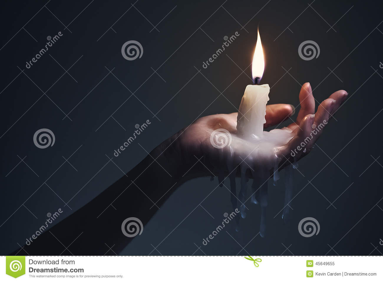 Holding A Candle On A Dark Background. Stock Image - Image of ... for Holding Candle In The Dark  599kxo
