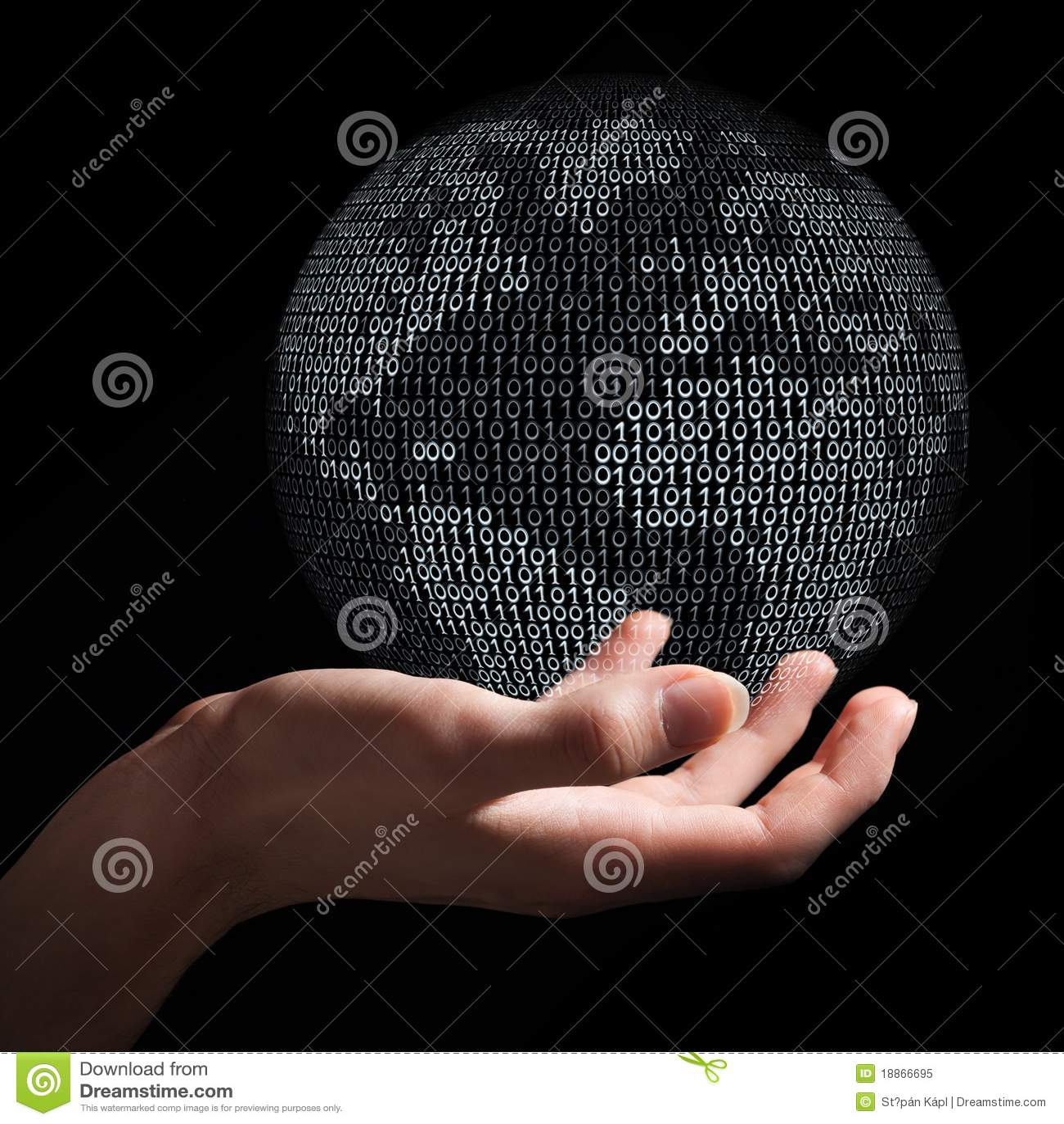 Holding digital earth