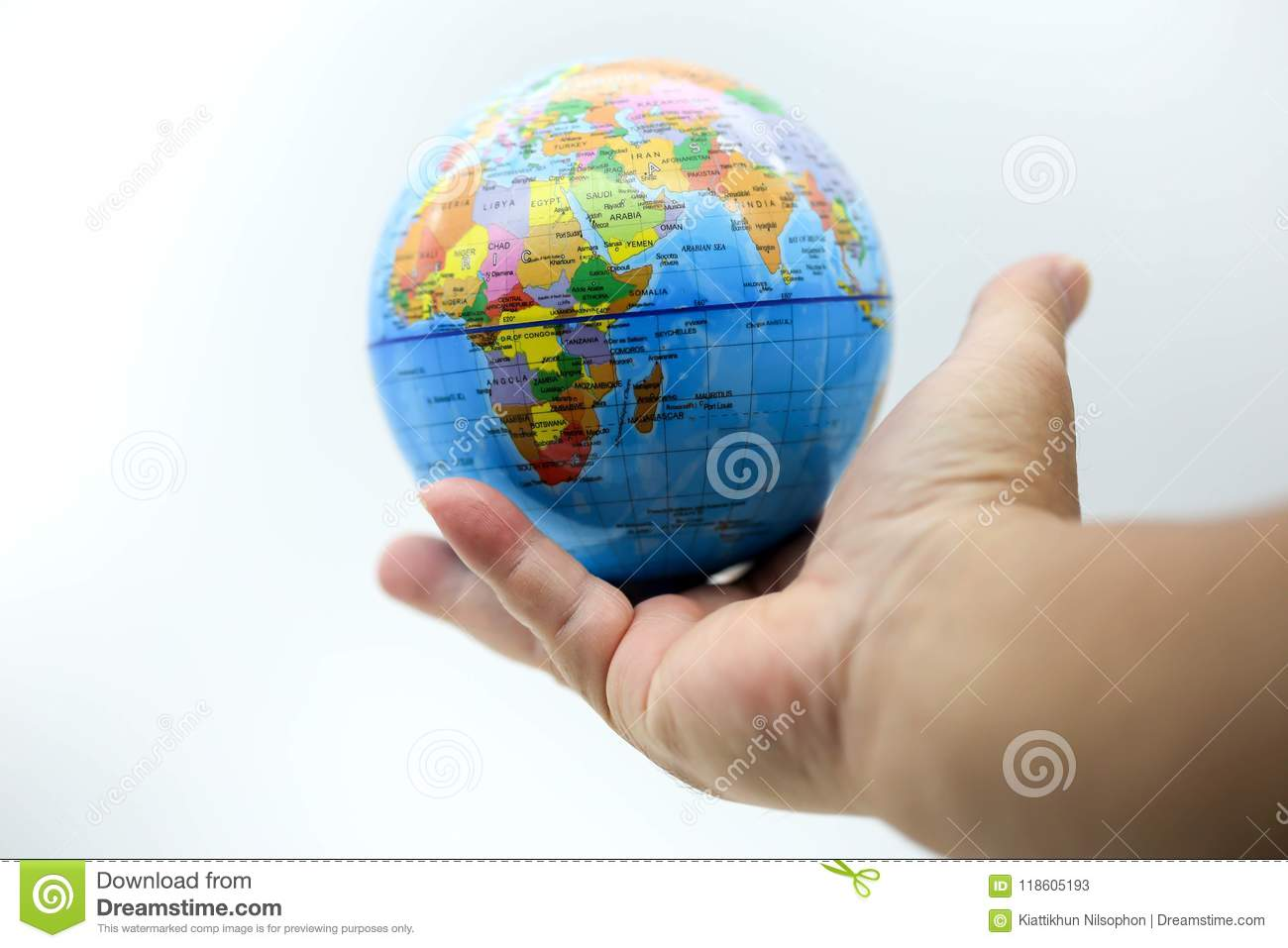 World Map On Hands.Holding Globe World Map On Hands Stock Image Image Of Environment