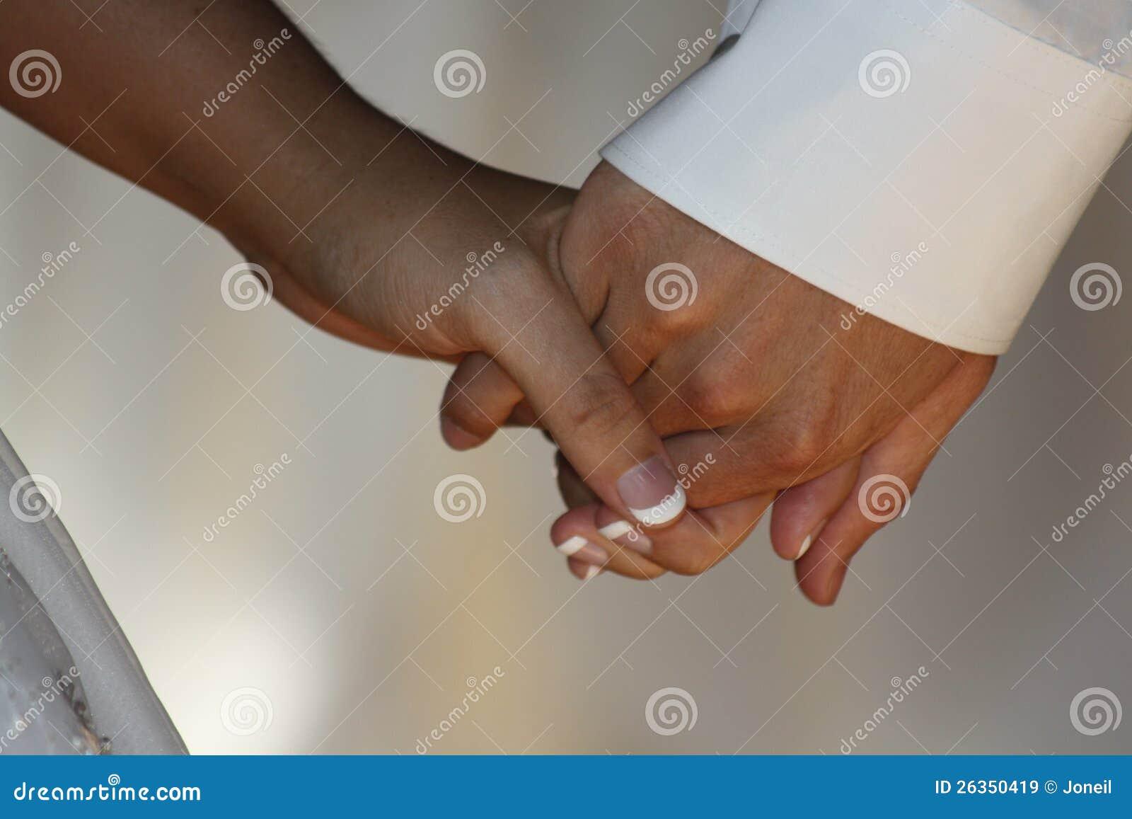 Holding-Hände