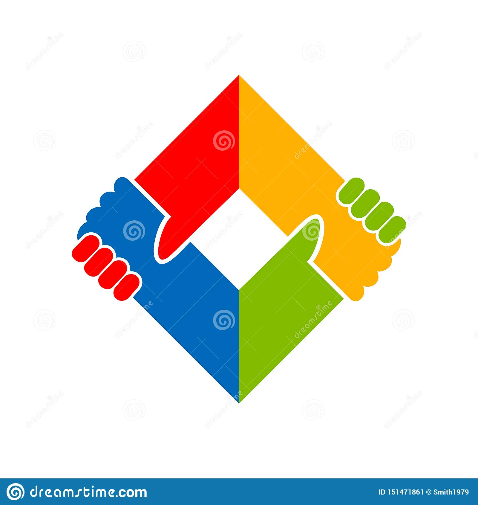 Holding Hand Unity Social Campaign Symbol Design Stock Vector Illustration Of Deal Hold 151471861