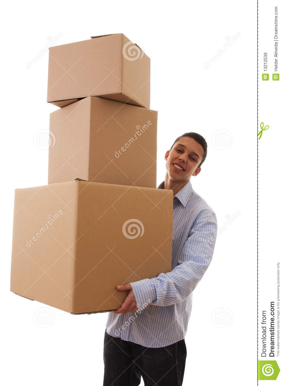Delivery Man Clip Art Free