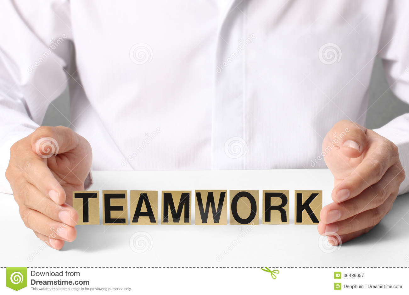 Holding Word Teamwork Royalty Free Stock Photography ...