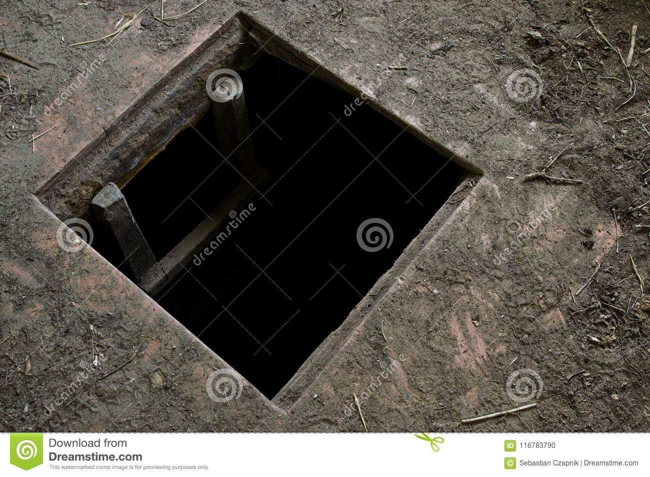 Download comp & Hole In Floor Of Old House Leading To Cellar Stock Photo - Image of ...