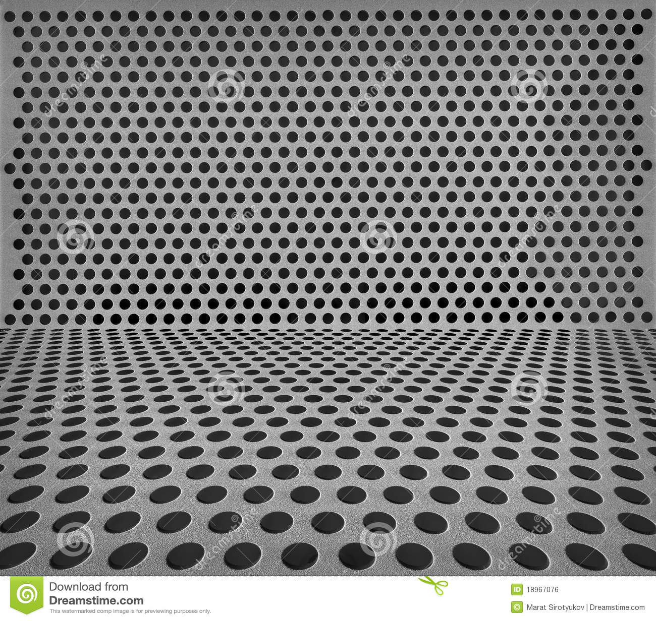 Hole Punched Metal Royalty Free Stock Image Image 18967076