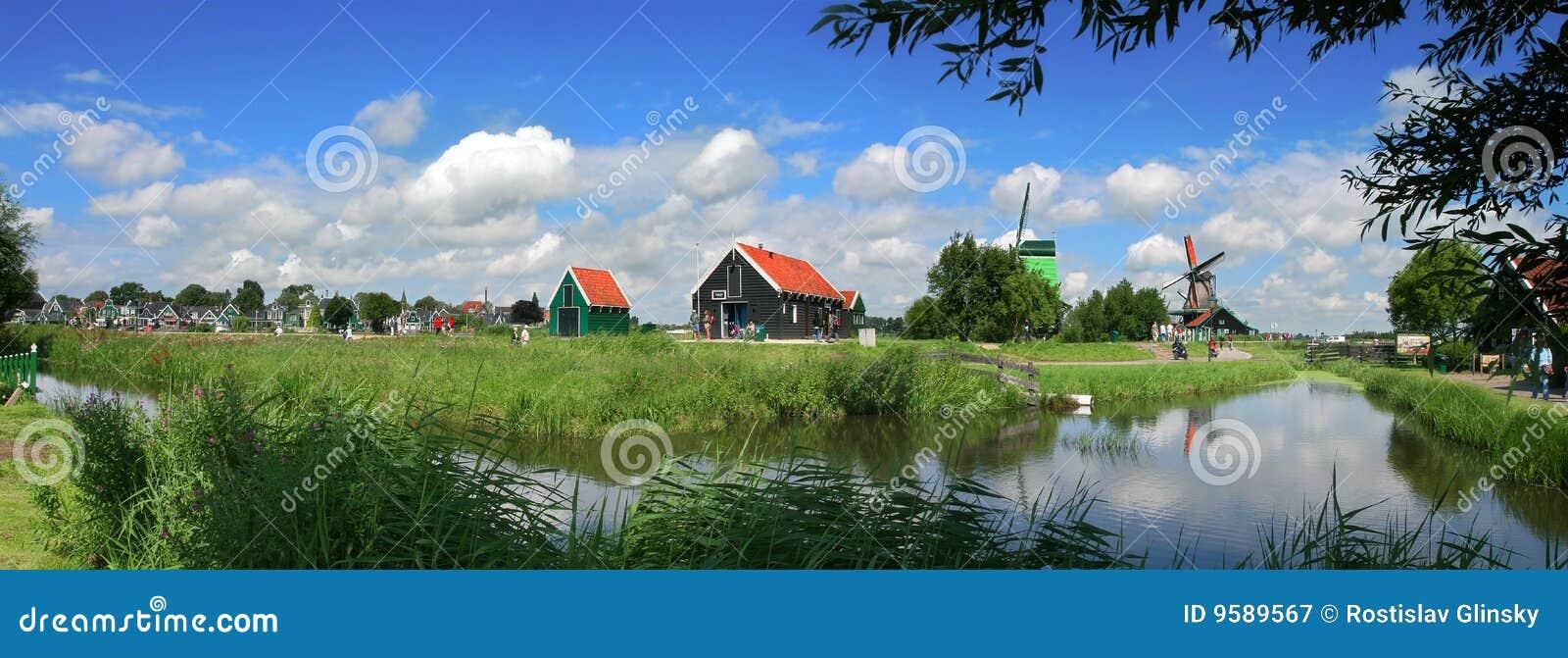 Holenderska wioska
