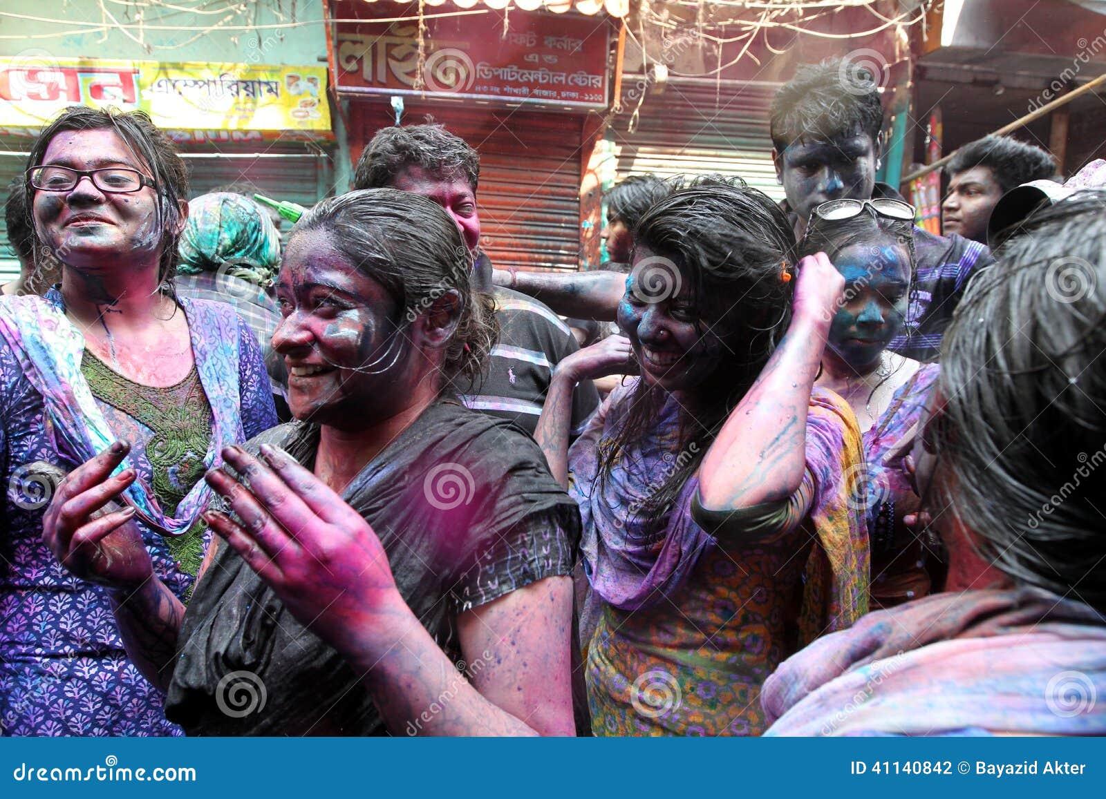 Holi av den Hindus festivalen