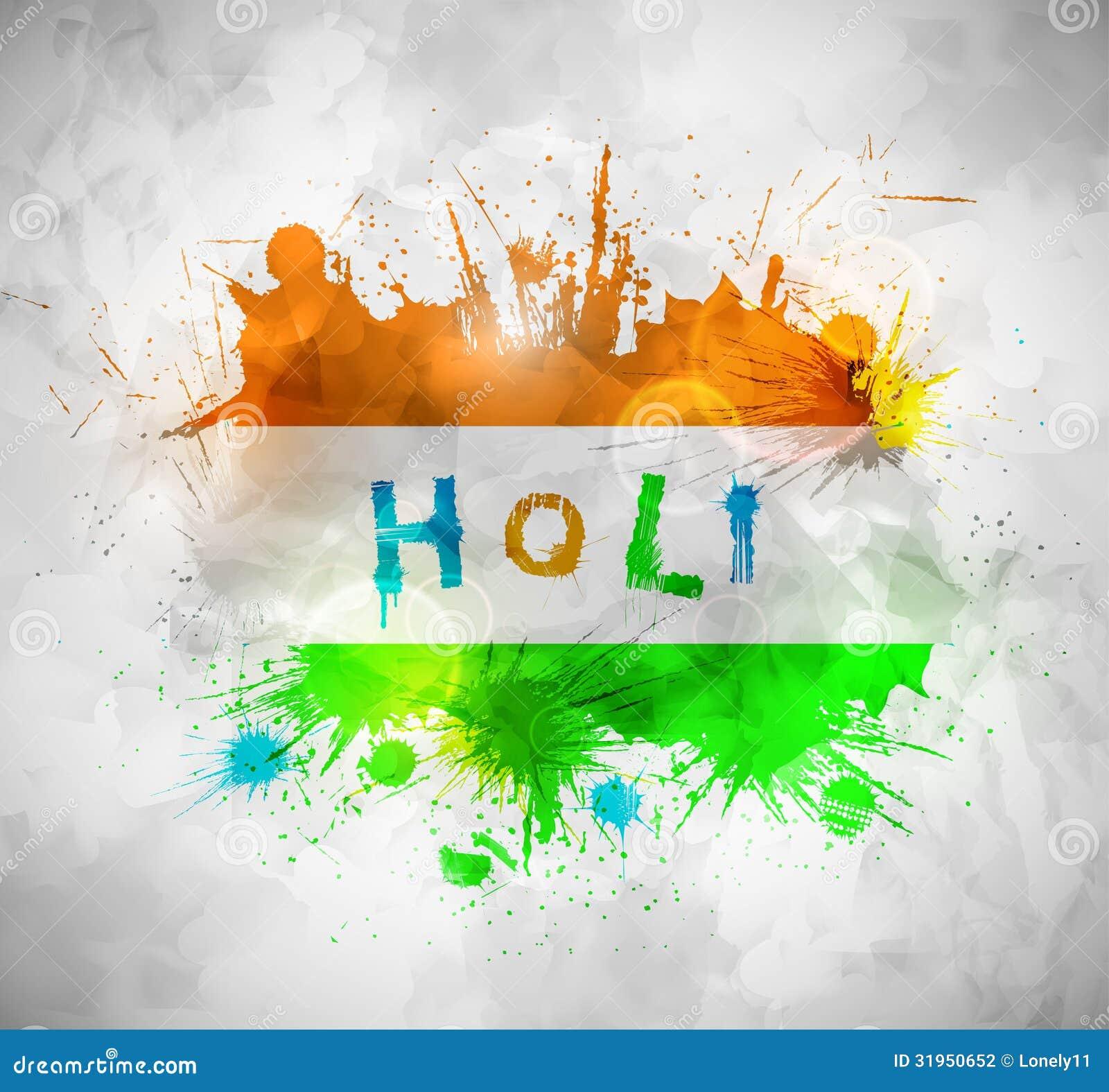Holi Background Stock Photography - Image: 31950652