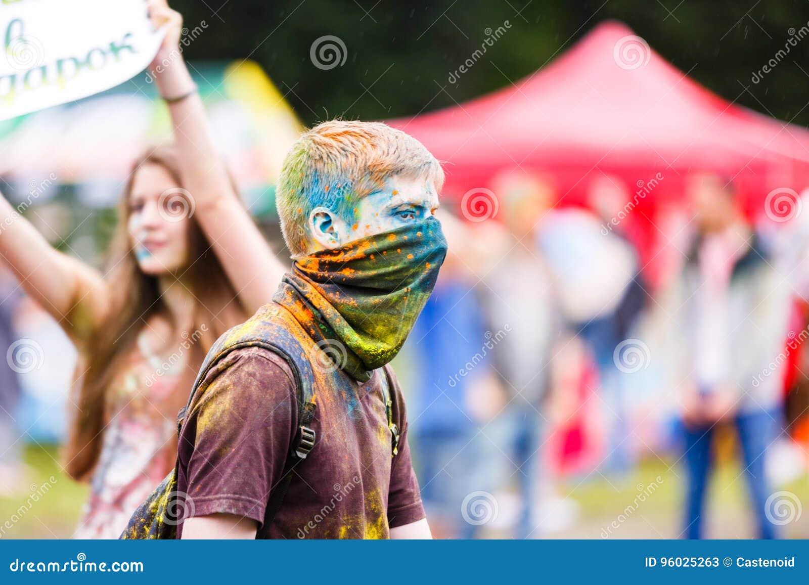 Holi festiwal w Kaliningrad