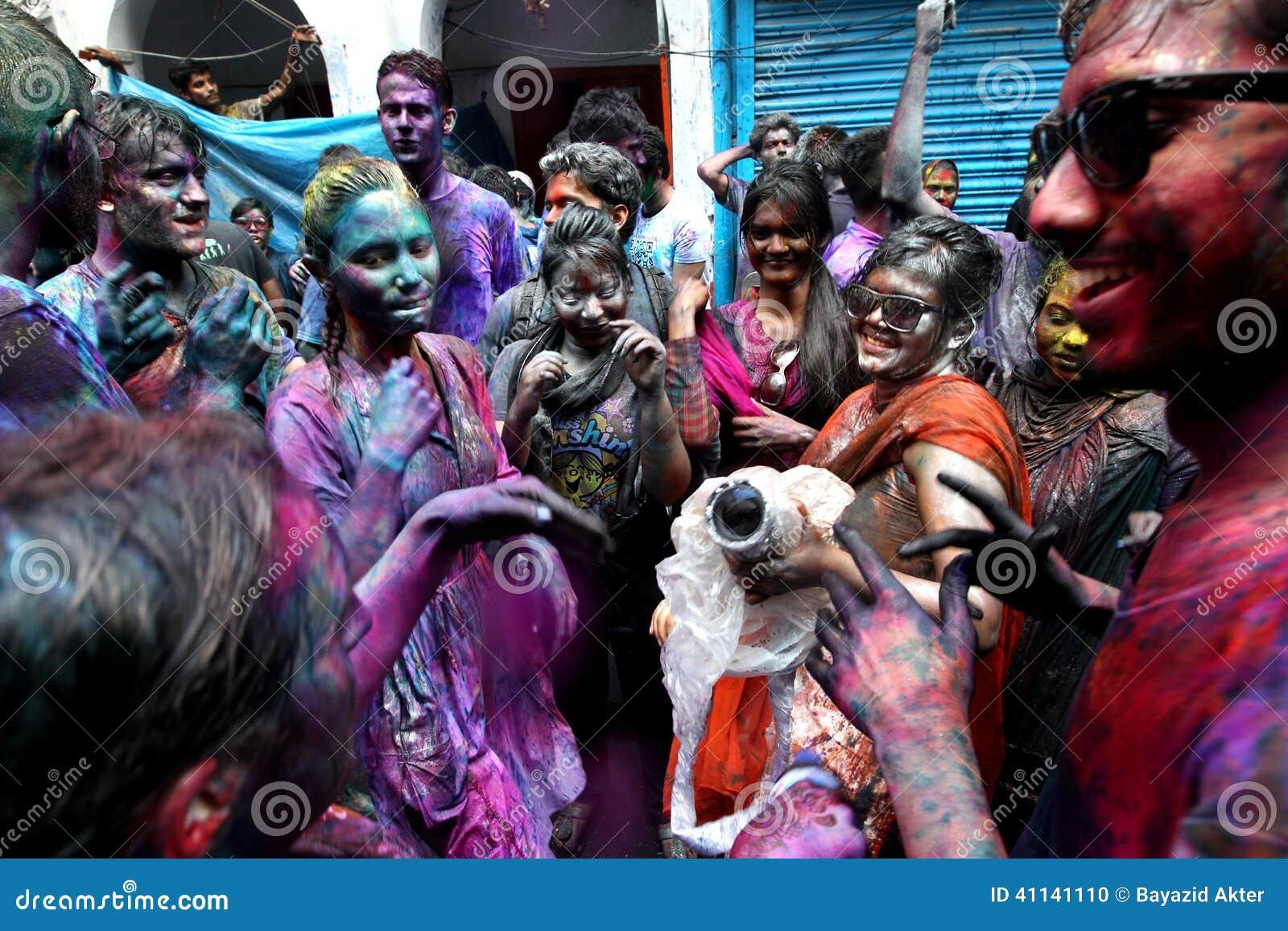 Holi van Hindus-Festival
