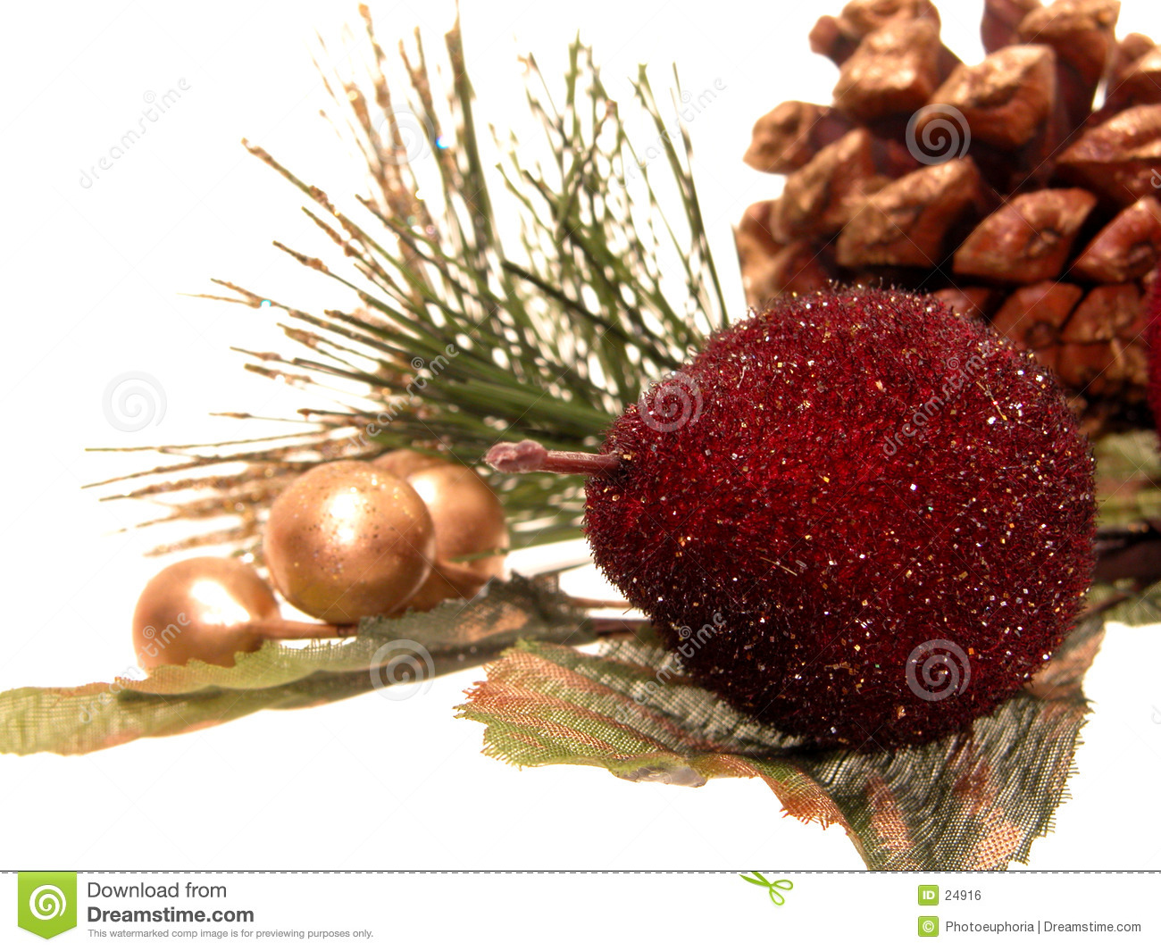 Holiday: Artificial Christmas Decorations