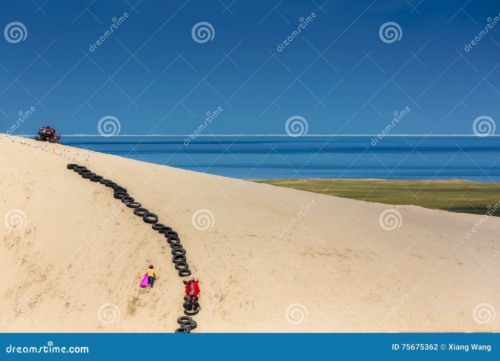 Holiday beach play