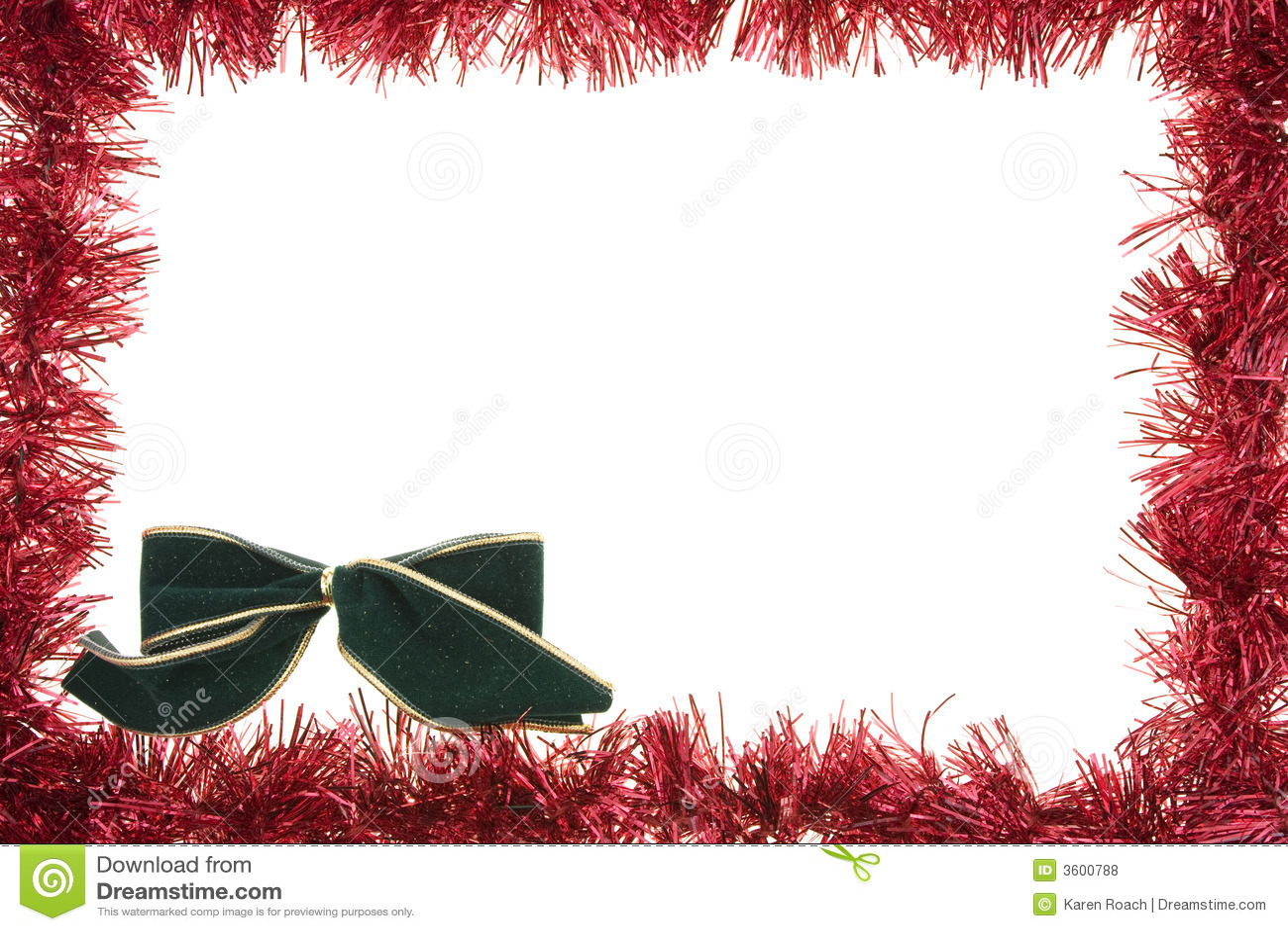 Holiday Border Stock Illustration Illustration Of Christmas 3600788