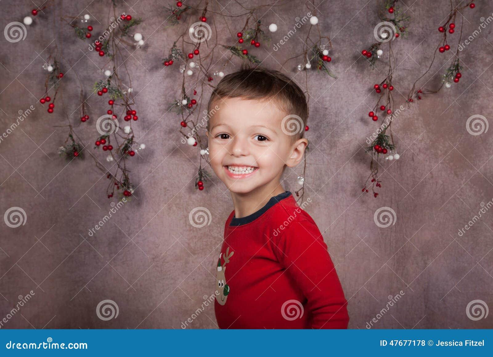 Holiday boy