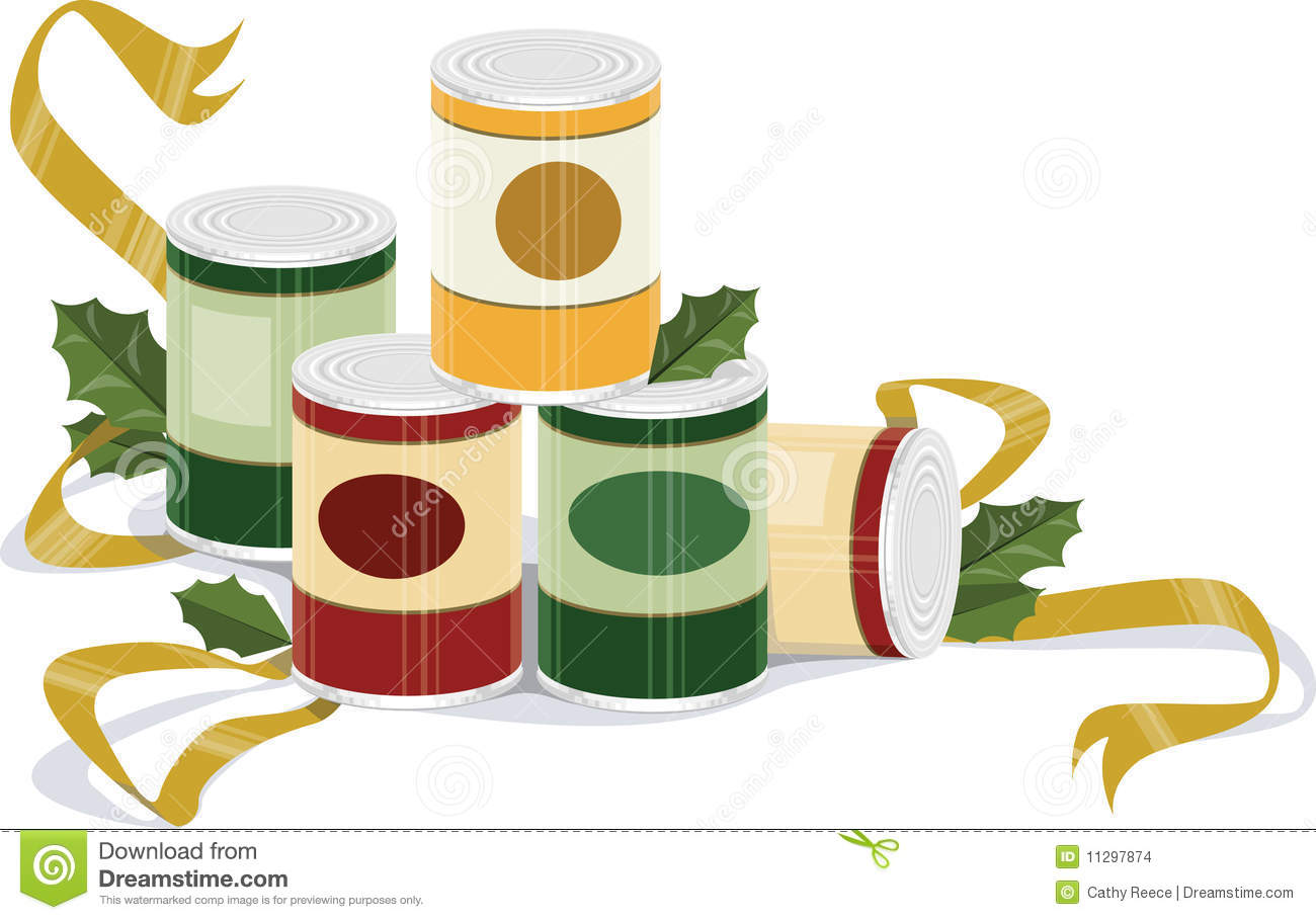 Holiday Canned Goods Stock Images Image 11297874