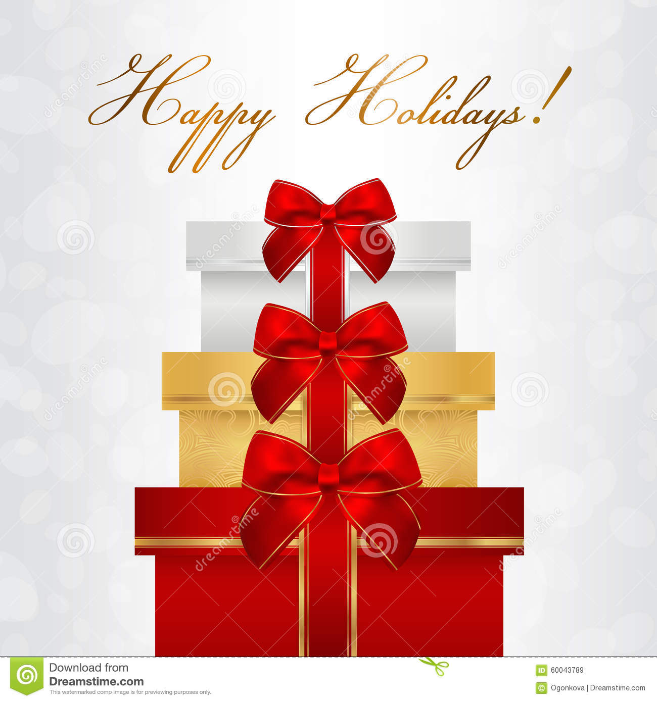 Holiday Card Christmas Card Birthday Card Gift Card greeting – Holiday Card Template