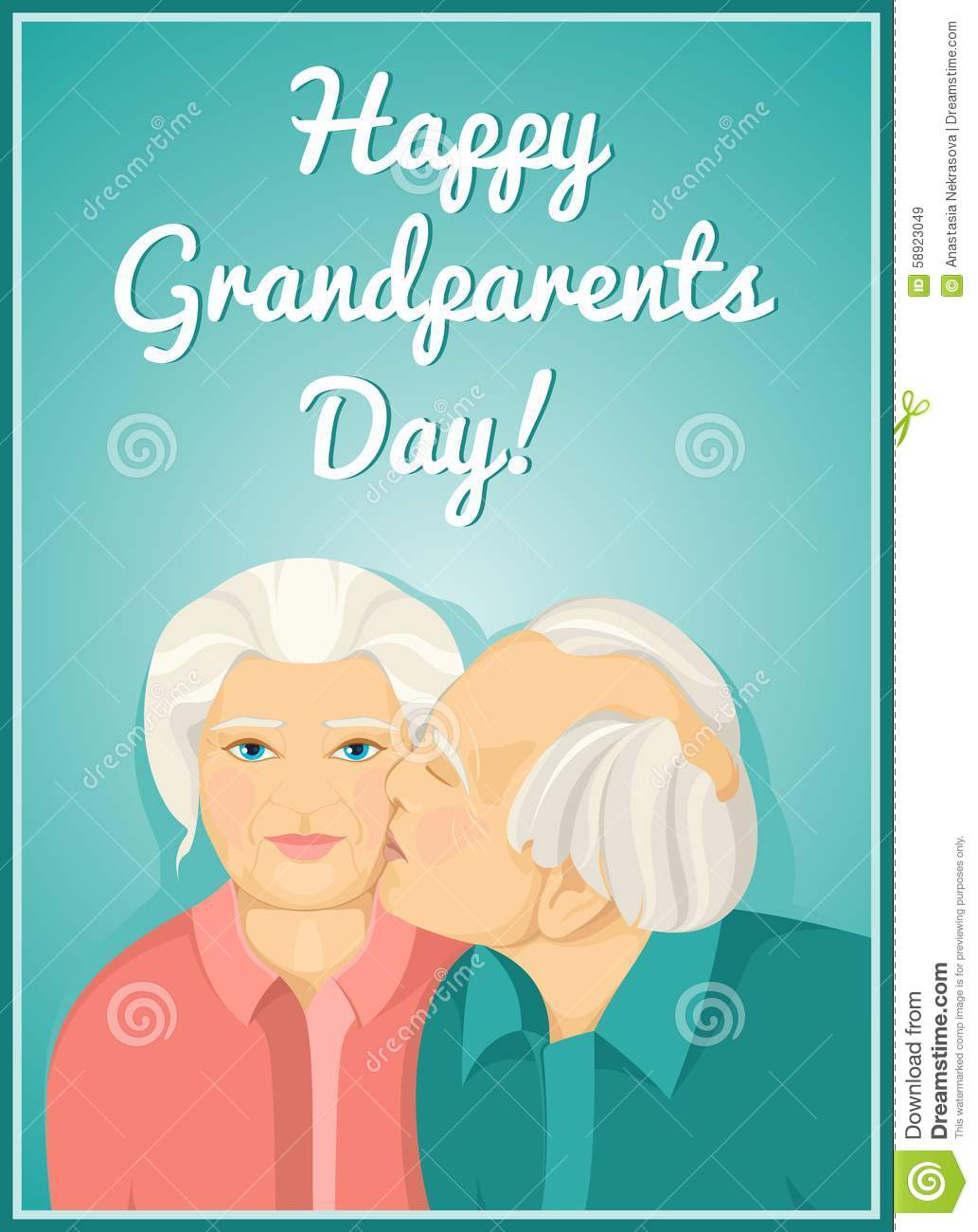 Congratulations to the grandmother of the Day of the Elderly 79