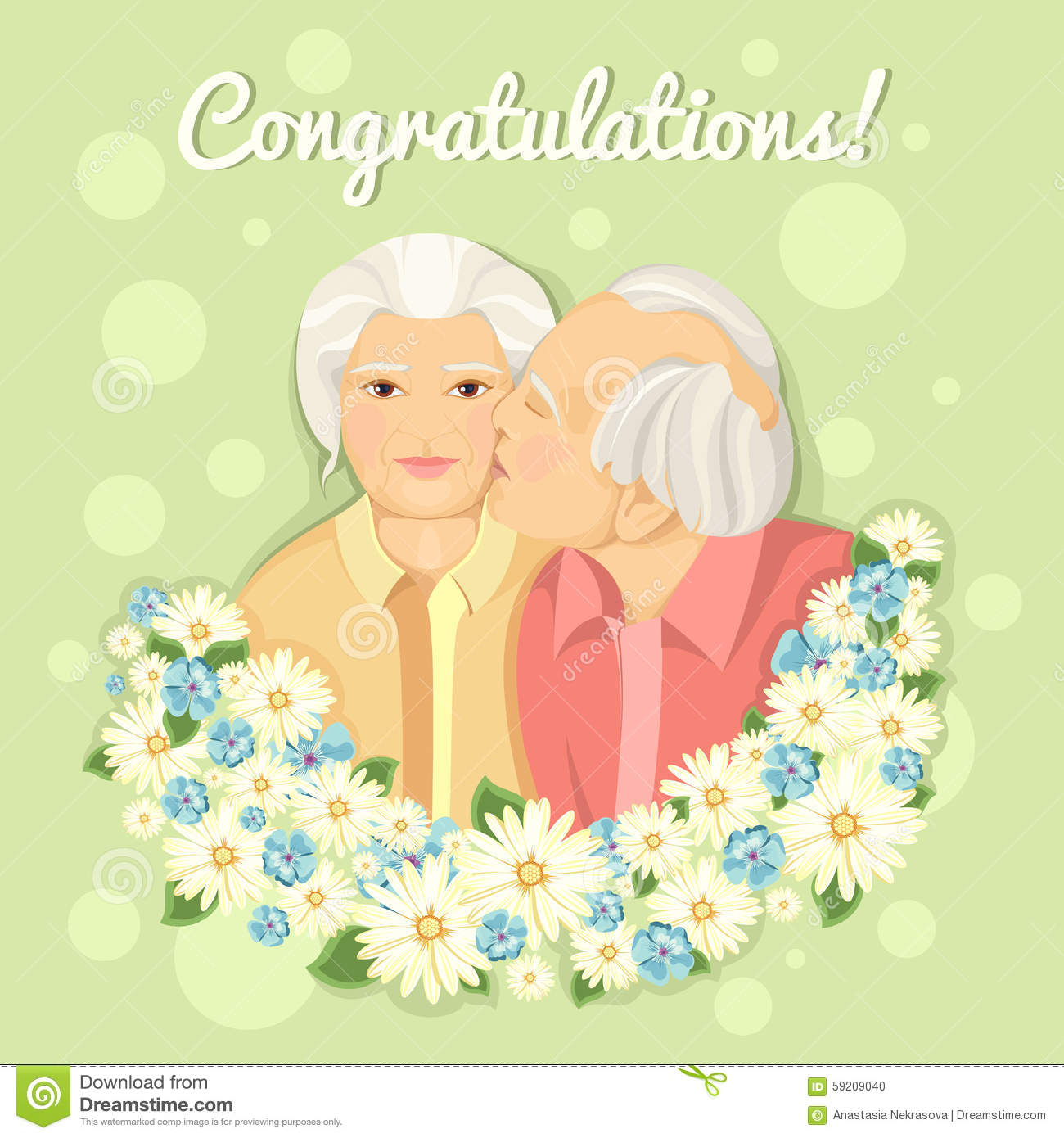 Congratulations to the grandmother of the Day of the Elderly 52