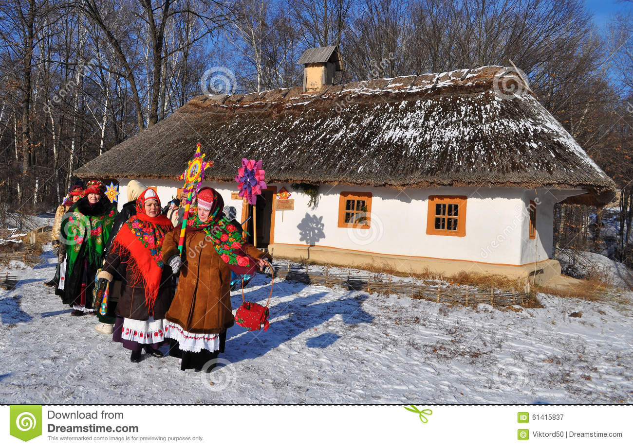 Foreign Christmas ukrainian bride day makes