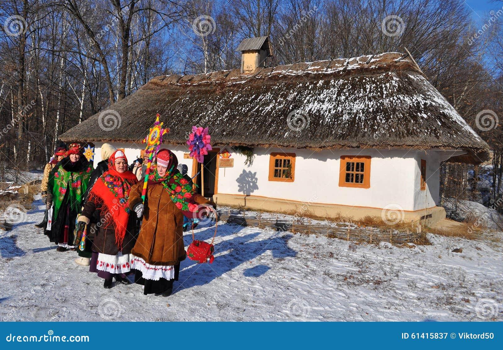 Foreign Christmas ukrainian bride day makes