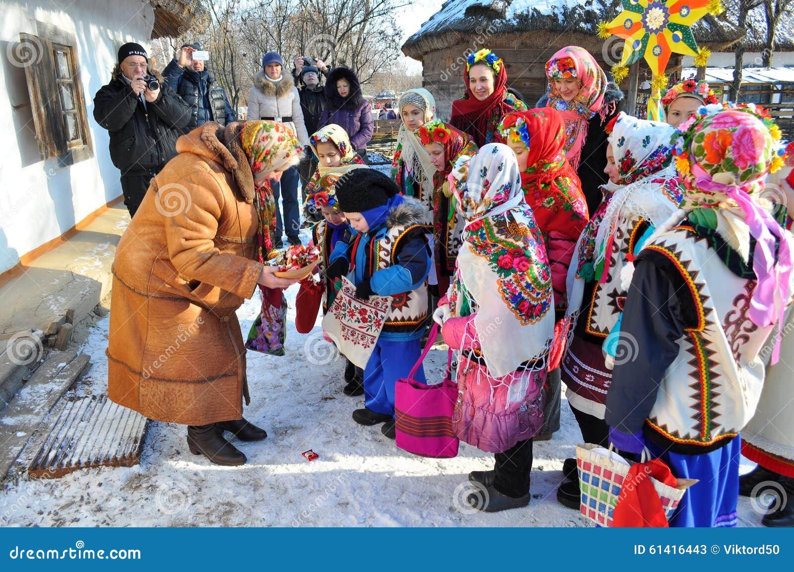 Christmas ukrainian bride day