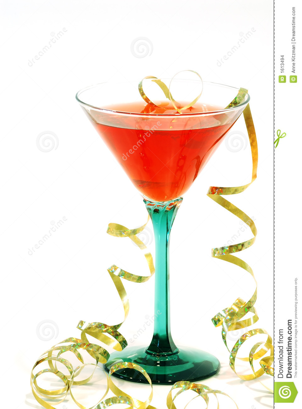Holiday cocktail stock images image 1613494 for Christmas in a glass cocktail