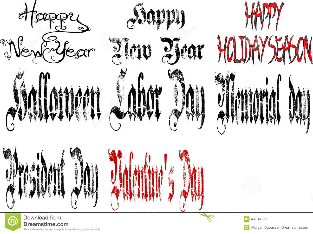 holiday collage stock image image of year collage font 44814853