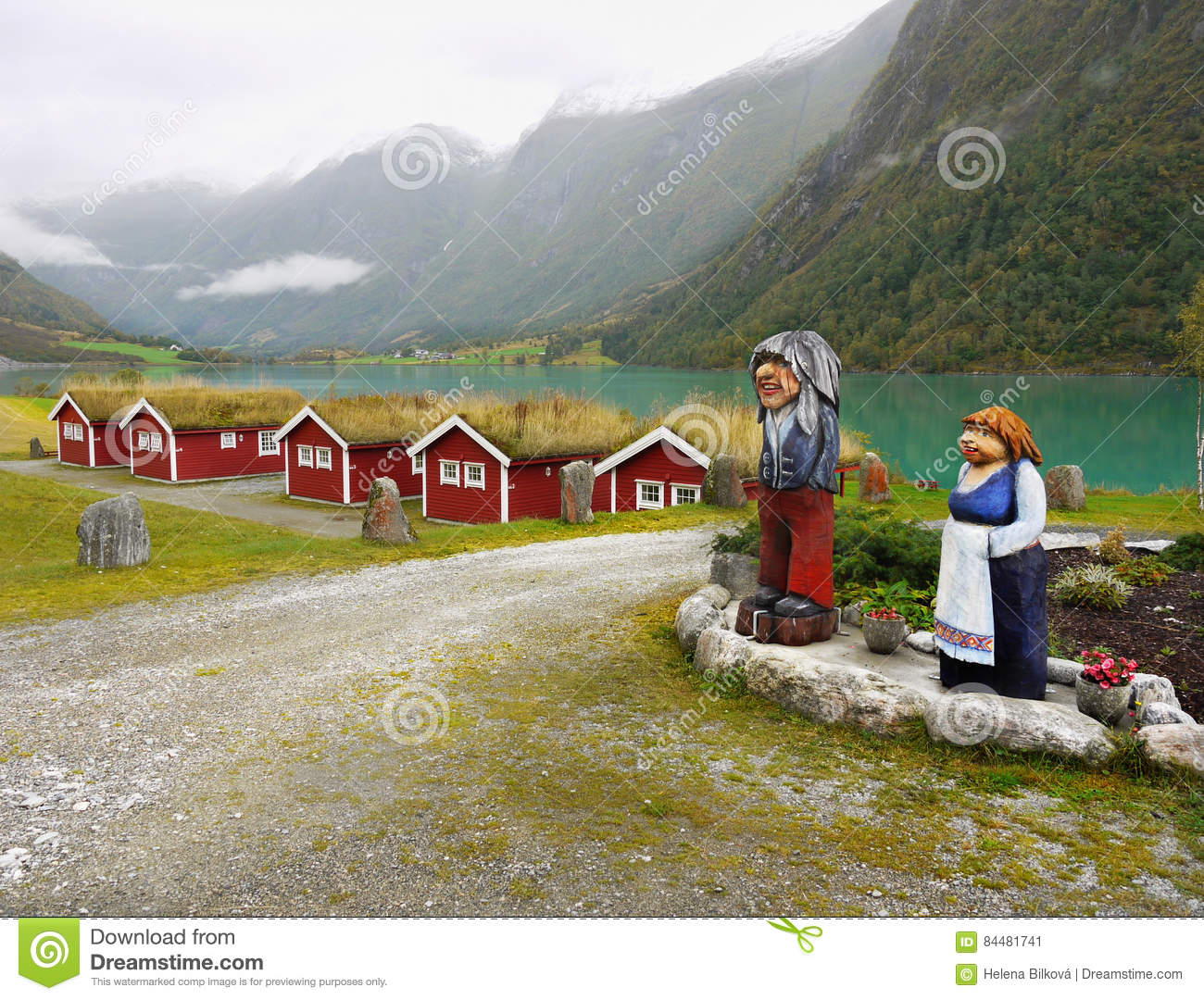 Superb Holiday Cottages Fjord Norway Stock Image Image Of Interior Design Ideas Clesiryabchikinfo