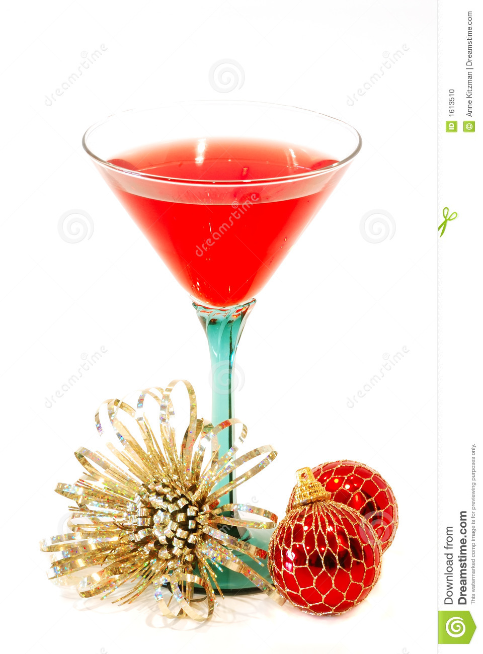 Holiday drink stock photo image 1613510 for Christmas in a glass cocktail