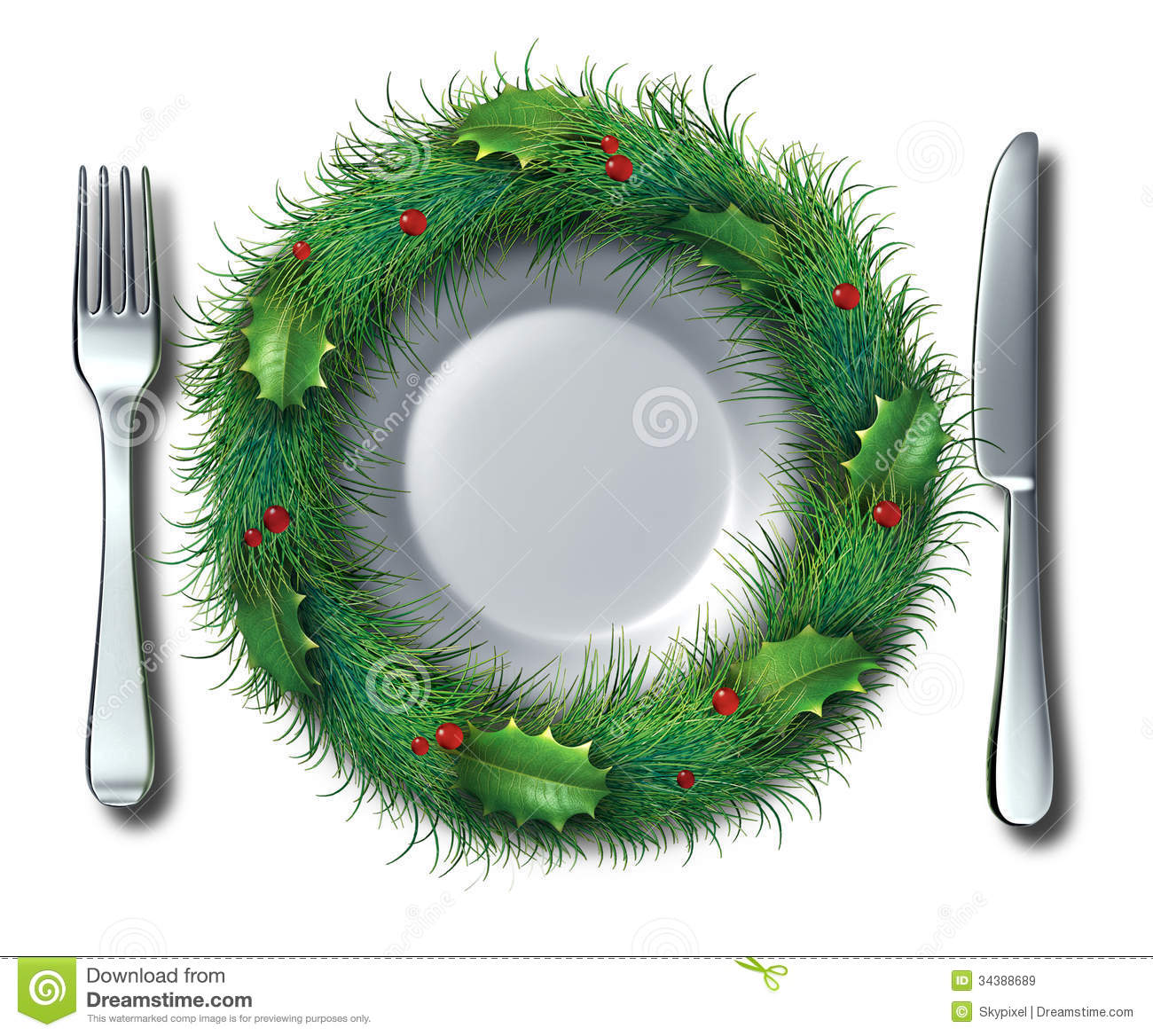 Holiday Food Royalty Free Stock Images