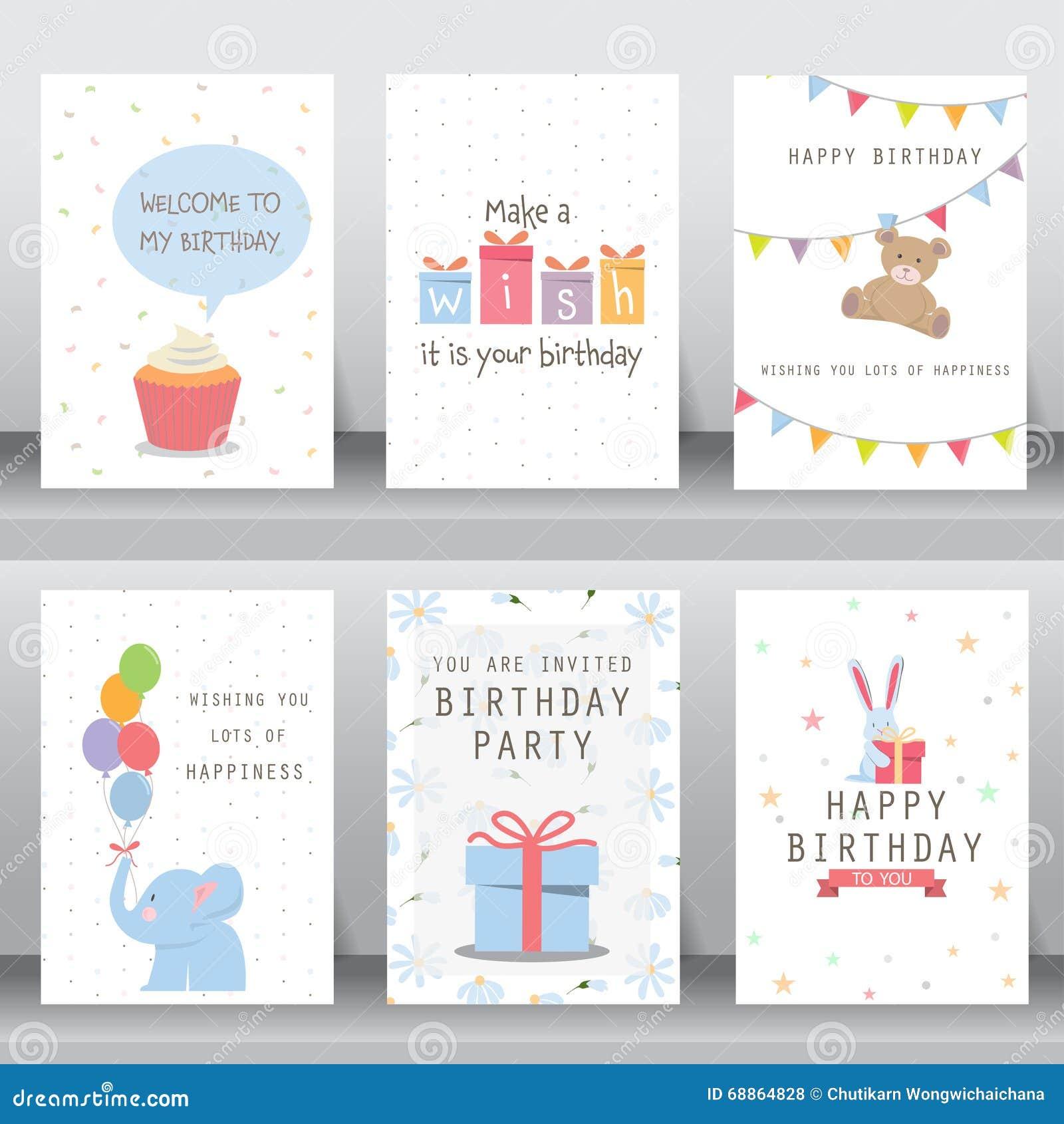 Holiday Greeting And Invitation Card Stock Vector