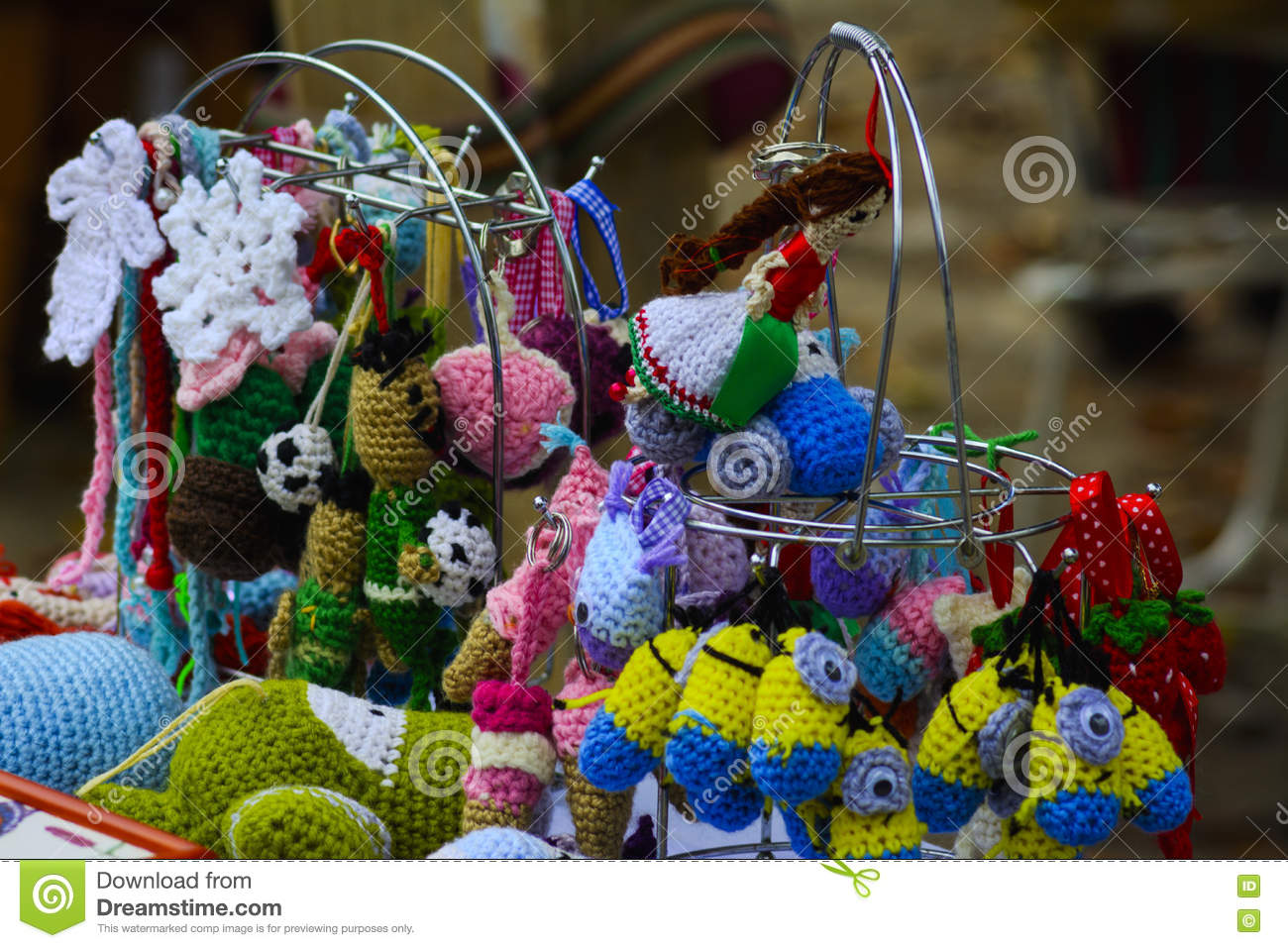 Holiday Handicrafts At The Feast In The Village Stock Image Image