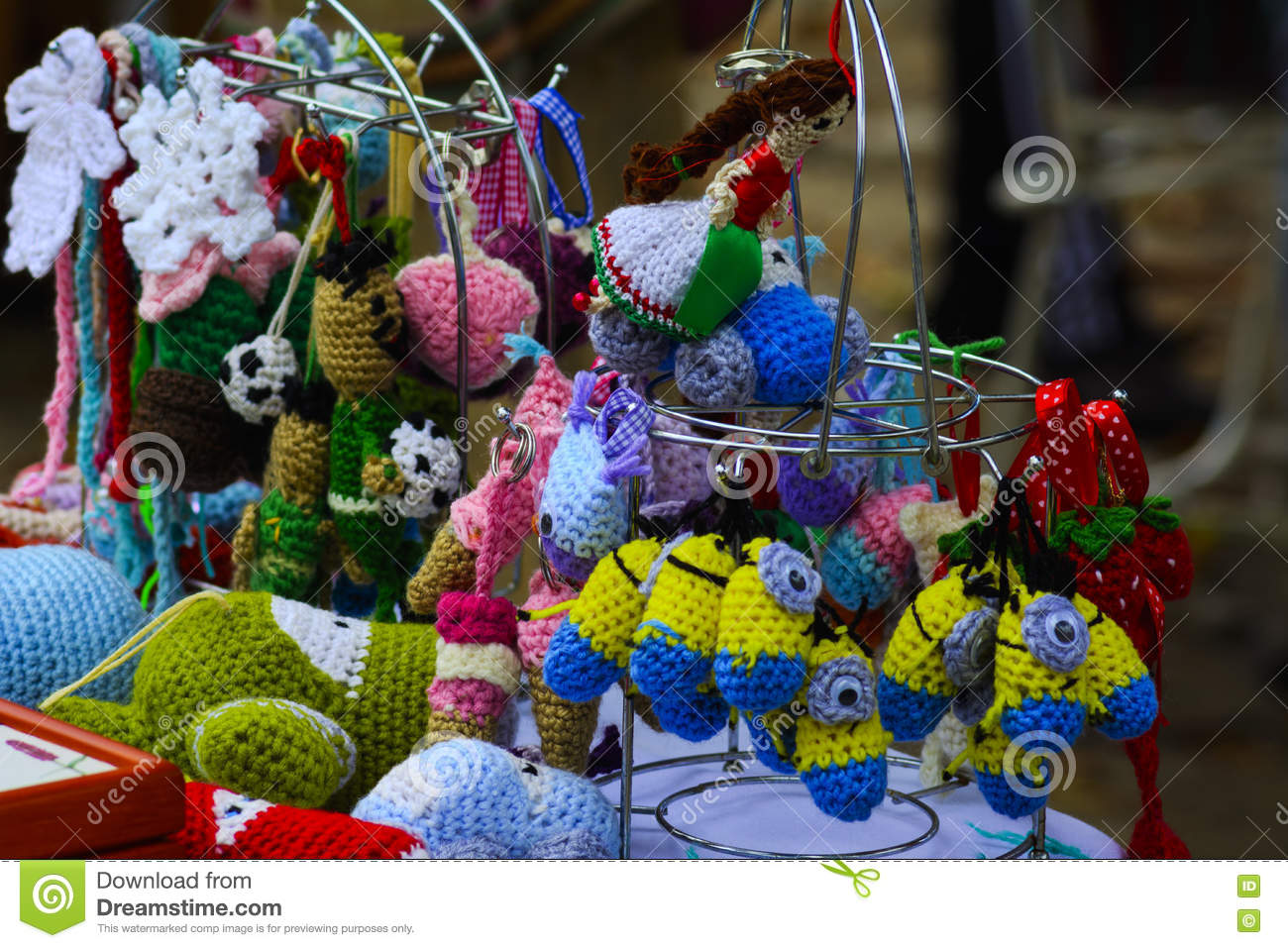 Holiday Handicrafts At The Feast In The Village Stock Photo Image