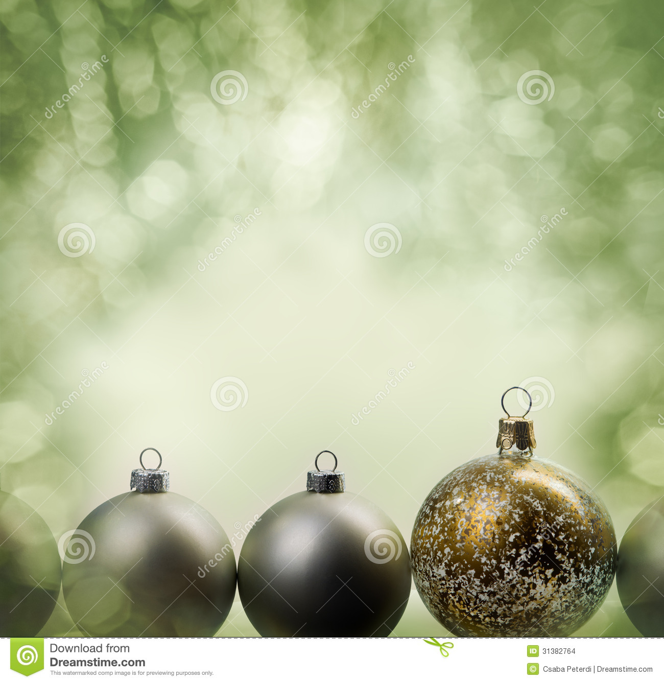 Holiday ornaments frame stock images image 31382764 for Holiday christmas ornaments