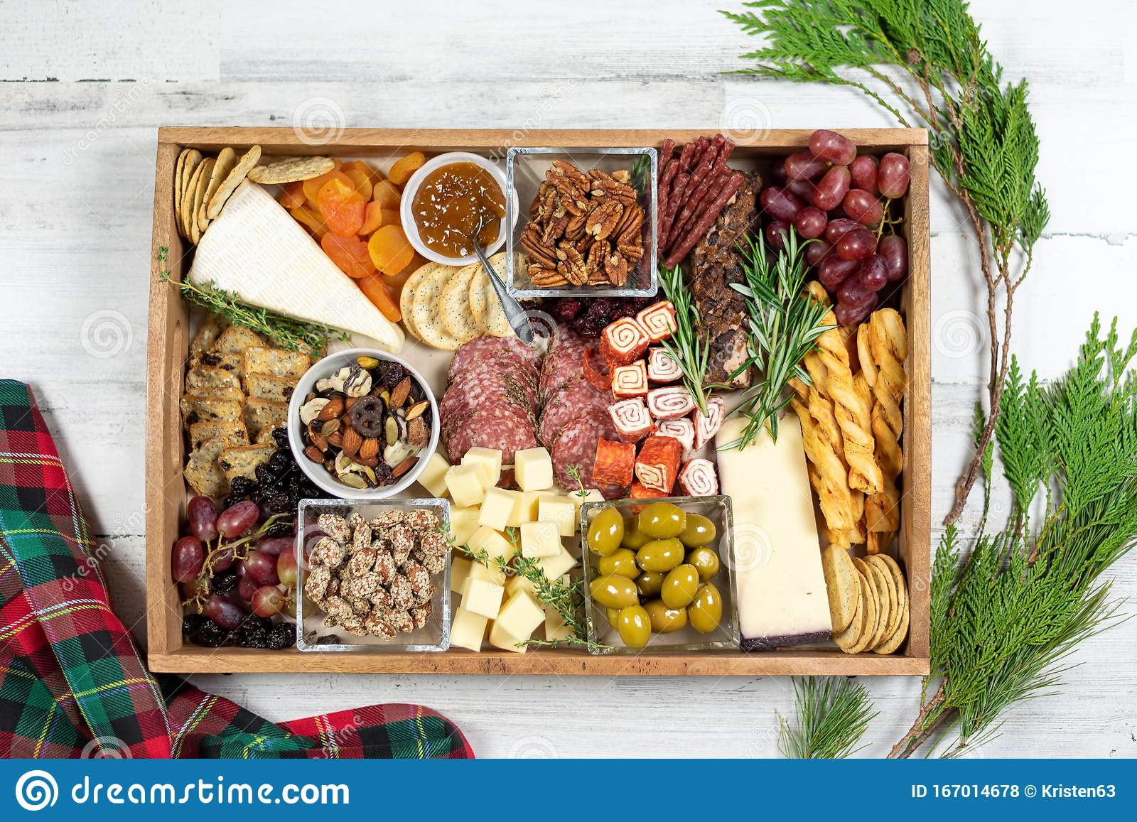 Holiday Appetizer Tray Of Meats And Cheeses Stock Photo Image Of Cold Drink 167014678