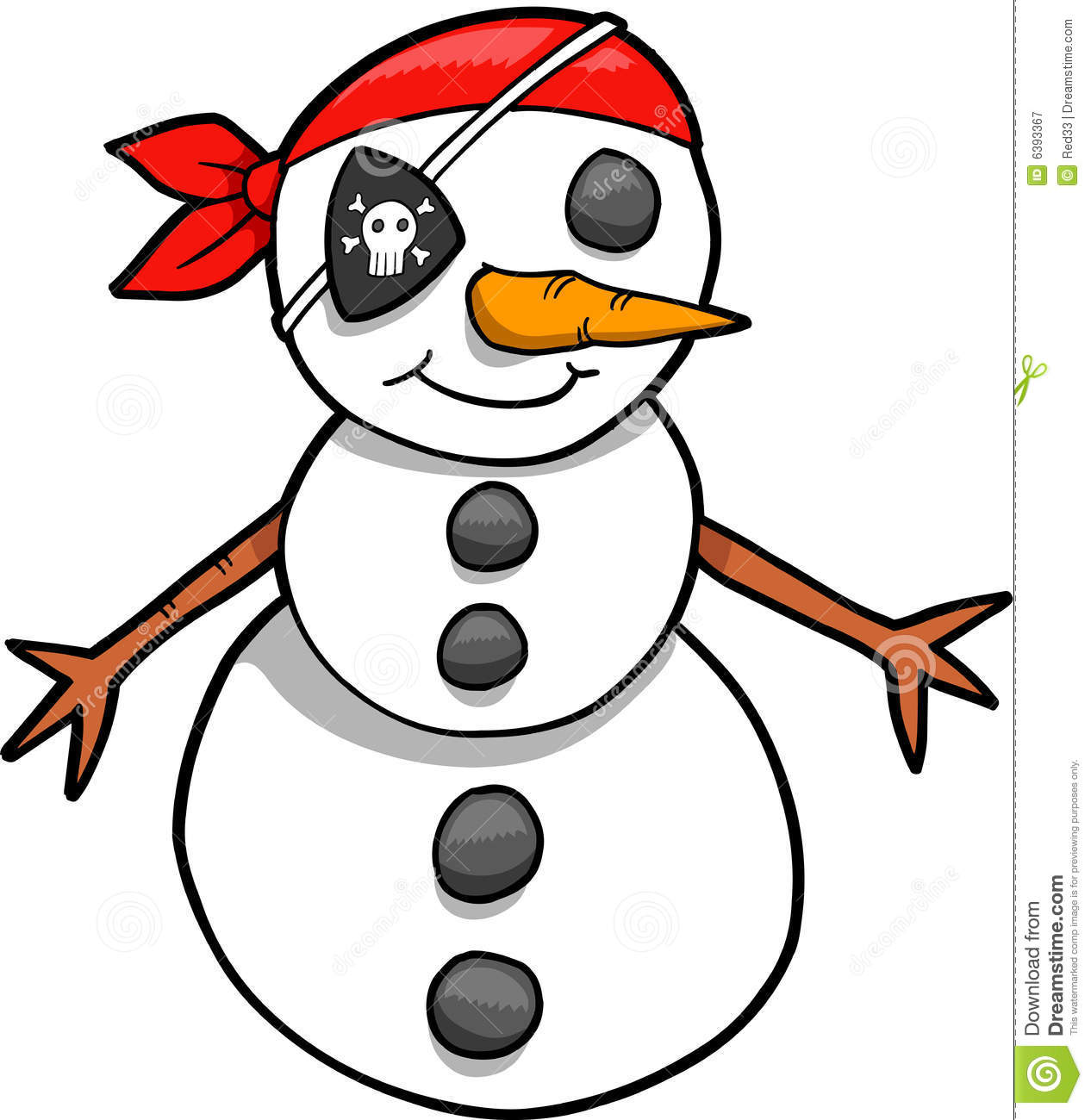 holiday pirate snowman royalty free stock photography clipart snowball fight snowball clipart images