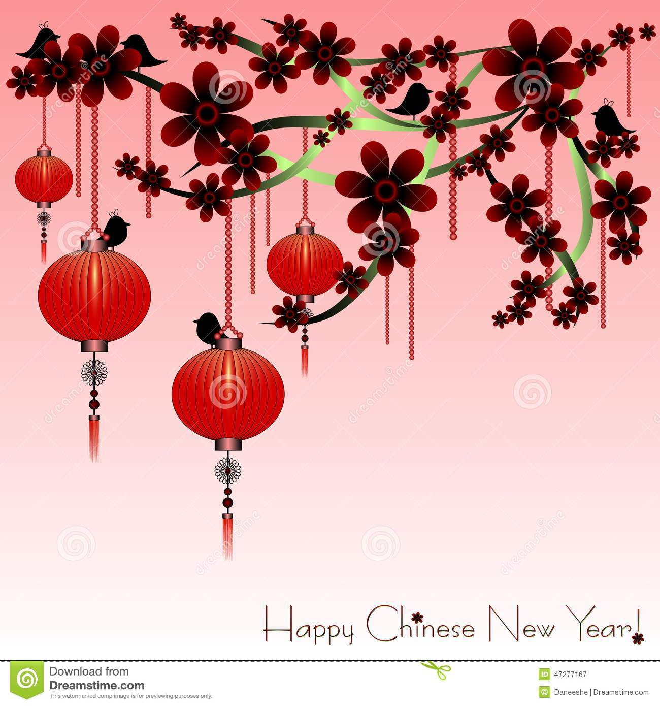 holiday postcard to the chinese new year 2015 - Chinese New Year Holiday