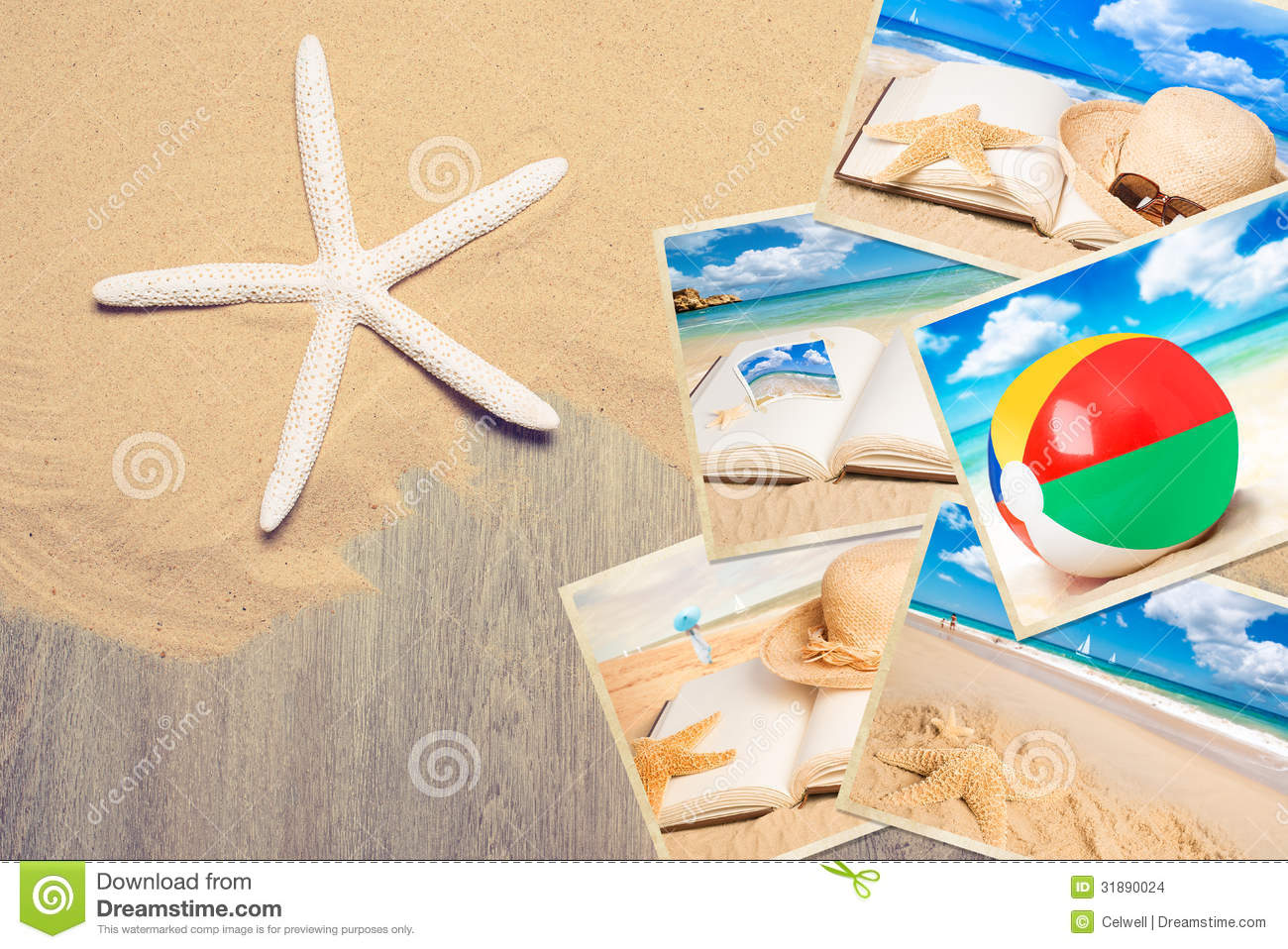 Holiday Postcards Stock Images - Image: 31890024
