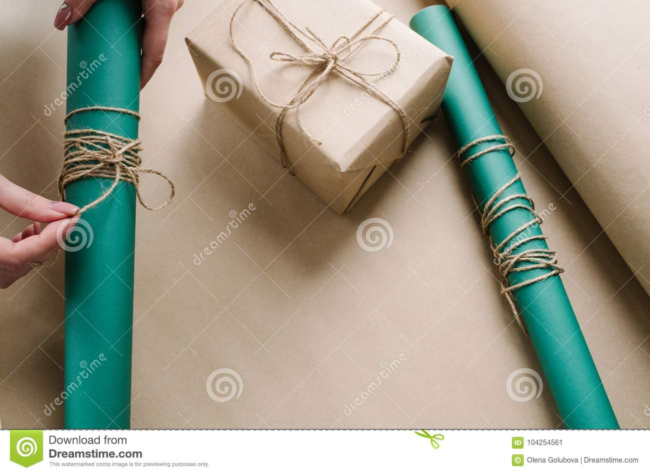 Professionally wrapped christmas gifts