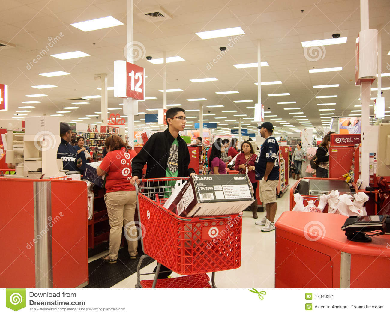 people shopping at target. editorial stock photo people shopping at target s