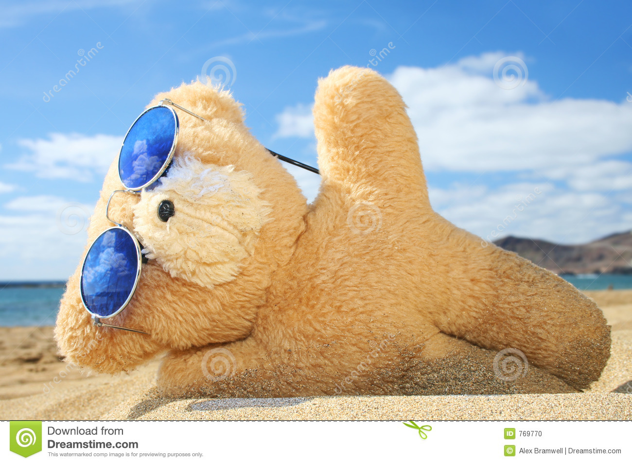Holiday Teddy Stock Photo - Image: 769770