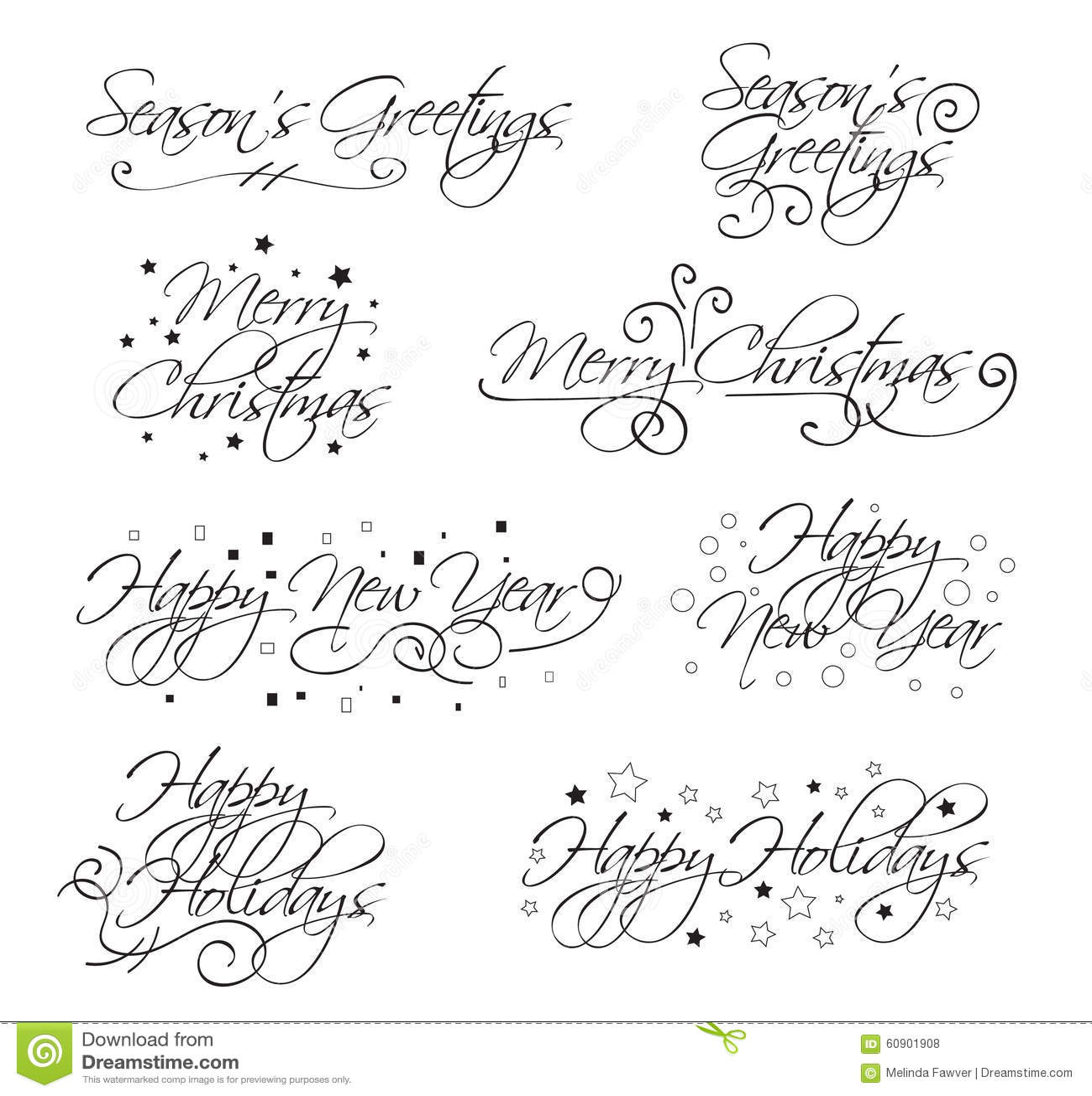 Holiday vector text stock vector illustration of calligraphic download holiday vector text stock vector illustration of calligraphic 60901908 m4hsunfo